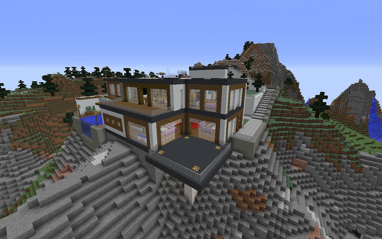 Hintergrundbilder : Minecraft, Haus 1280x800 - LeaderOni - 1230154 ...
