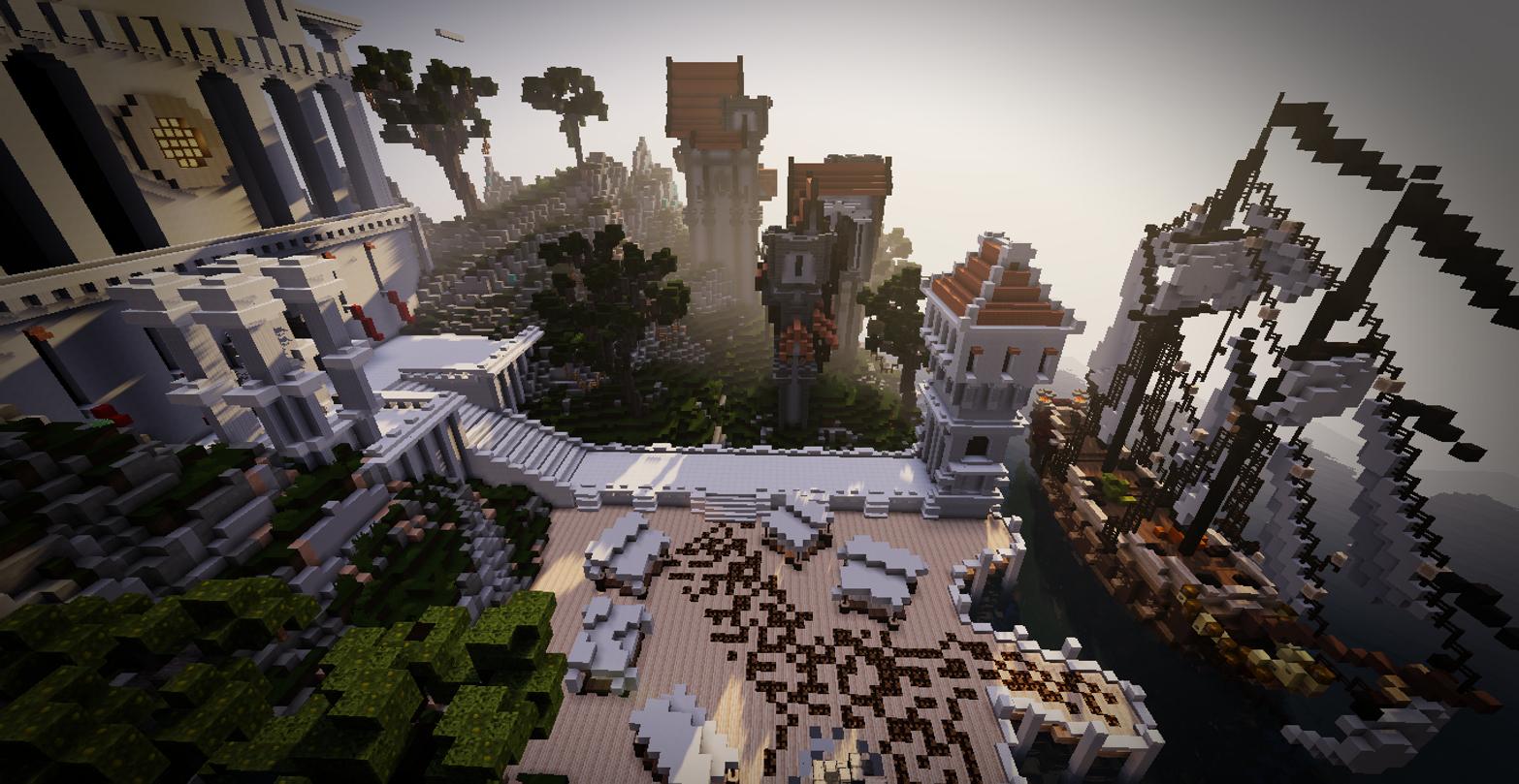 Popular Wallpaper Minecraft Landscape - Minecraft-landscape-tower-1247053  Pictures_932773.jpg