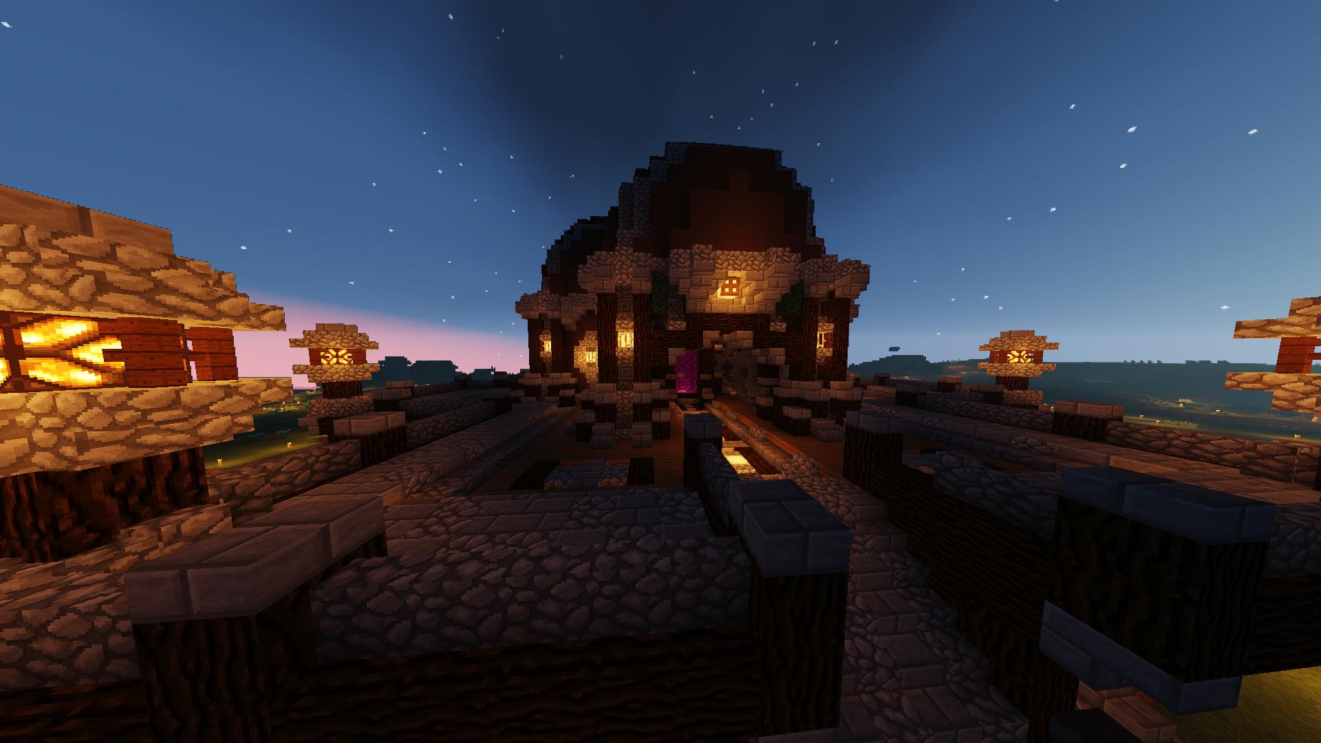 Hintergrundbilder Minecraft Shader 1920x1080