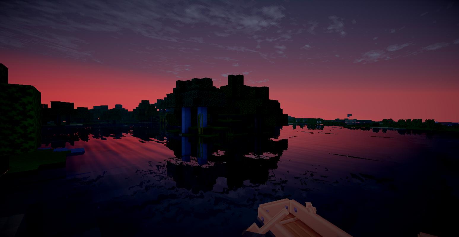 Must see Wallpaper Minecraft Night - Minecraft-sunset-tug-boats-1245983  Pic_74784.jpg