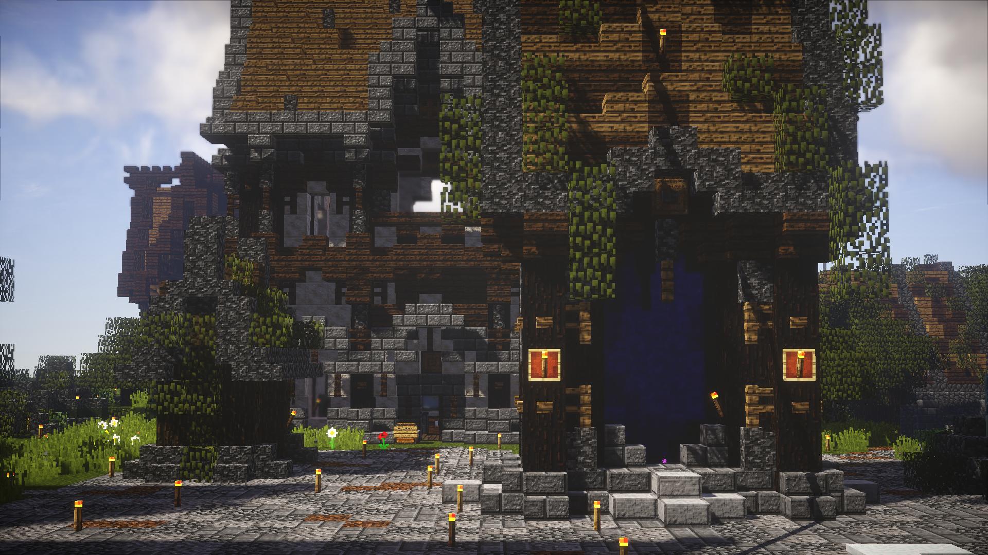 Hintergrundbilder Minecraft Videospiele Nether Portal