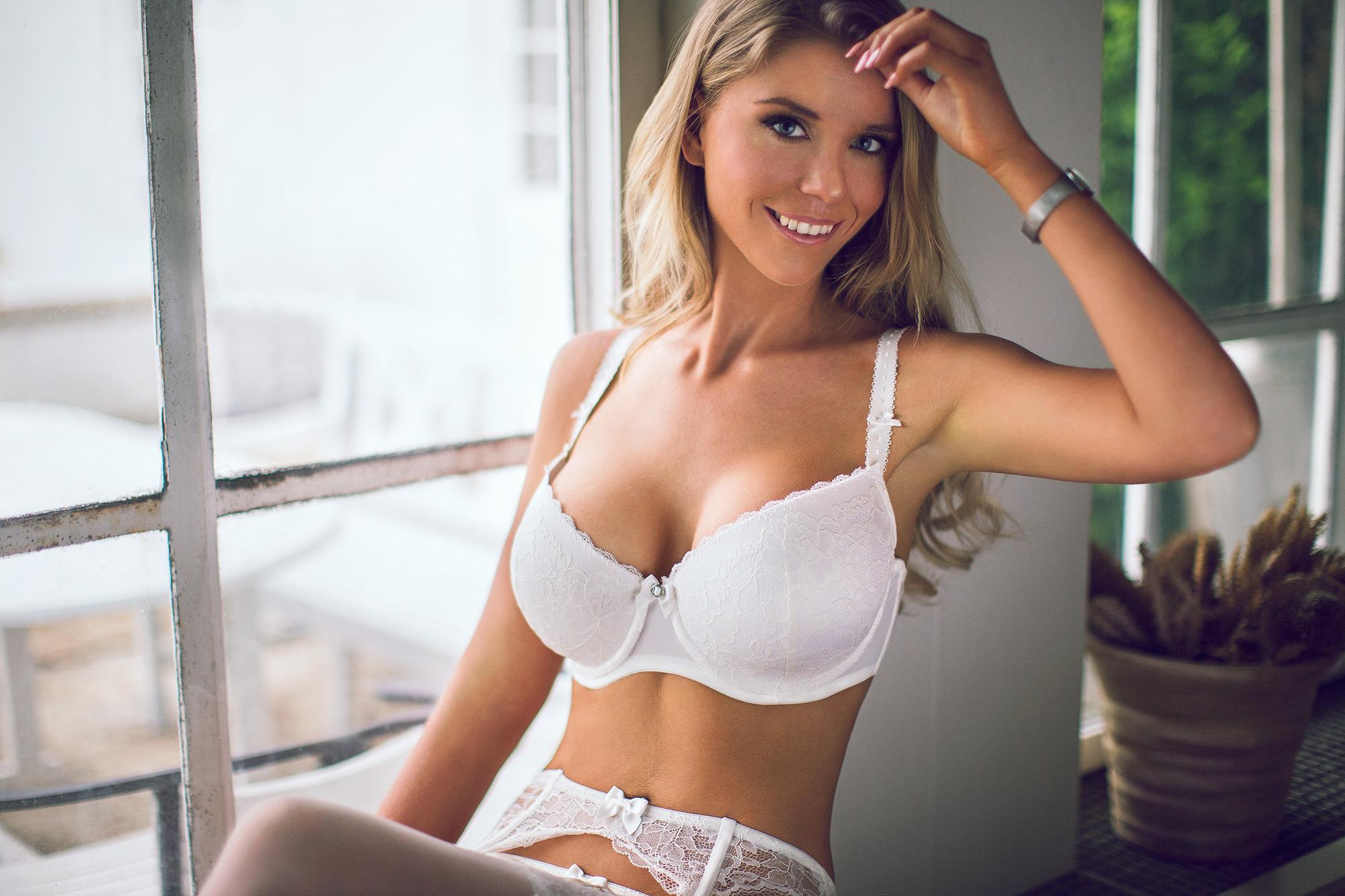 Girls blonde girls white bras nude mens