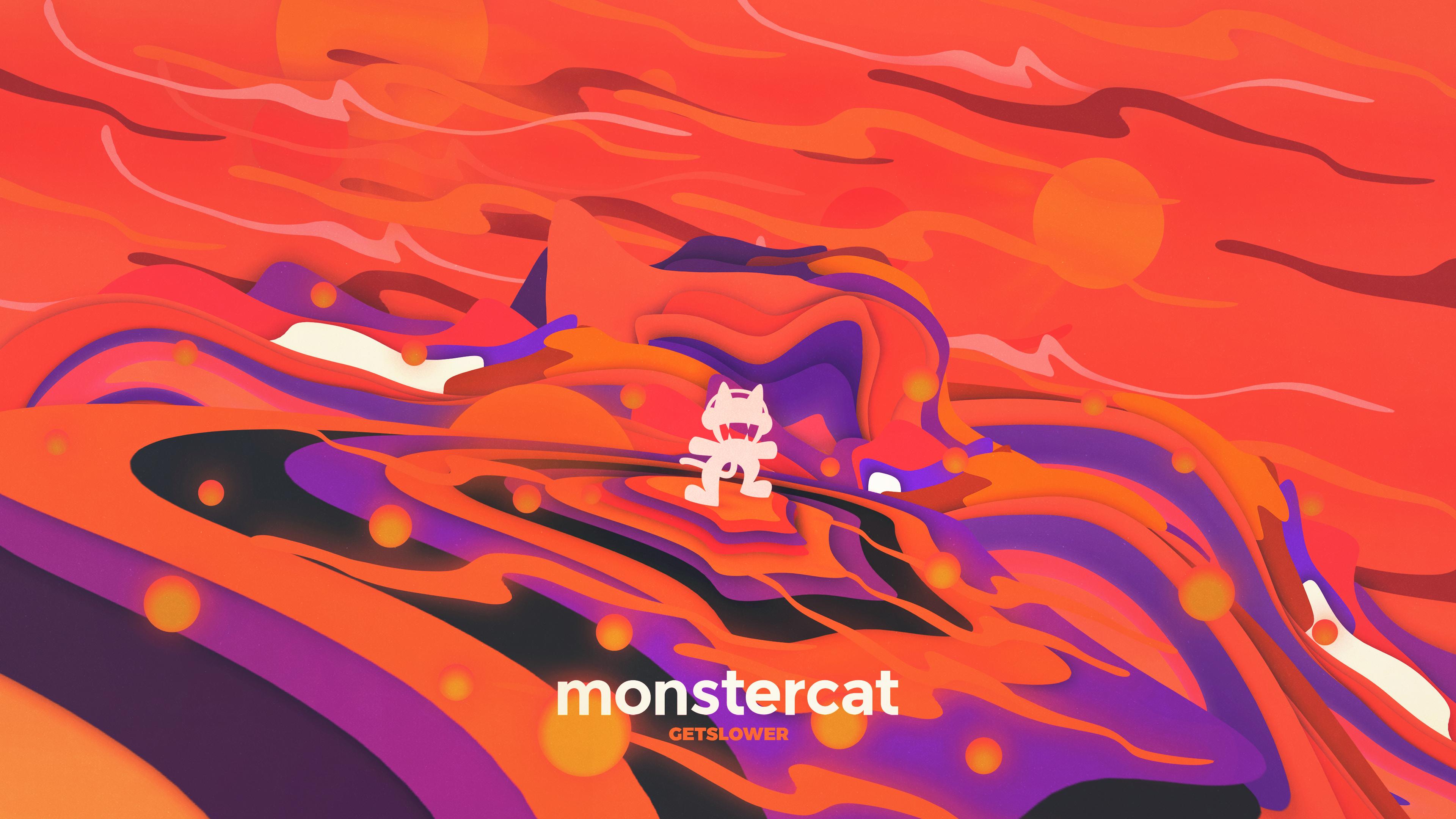 Wallpaper : Monstercat, music 3840x2160 - getslower