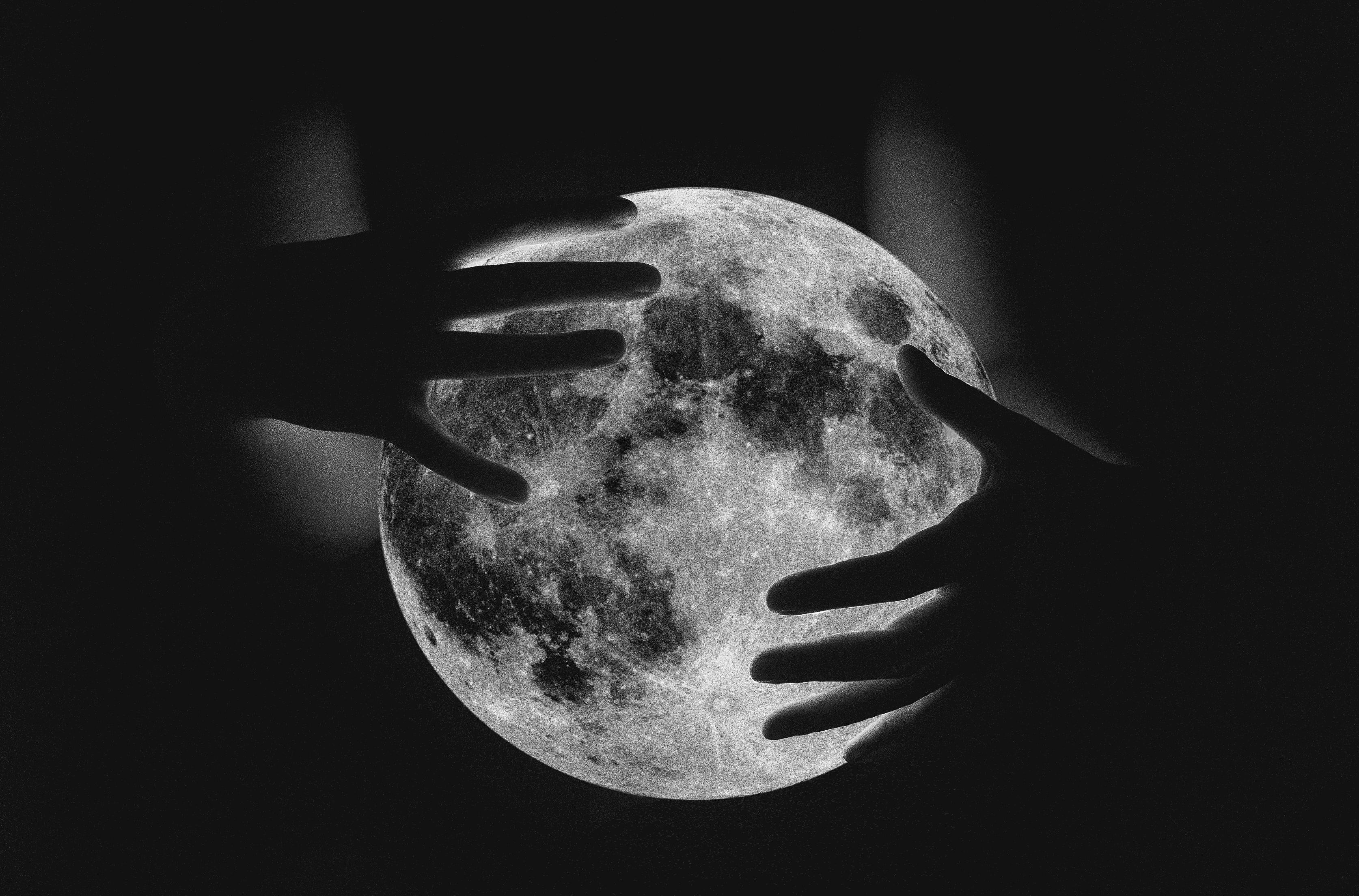 темная луна ава картинки одном