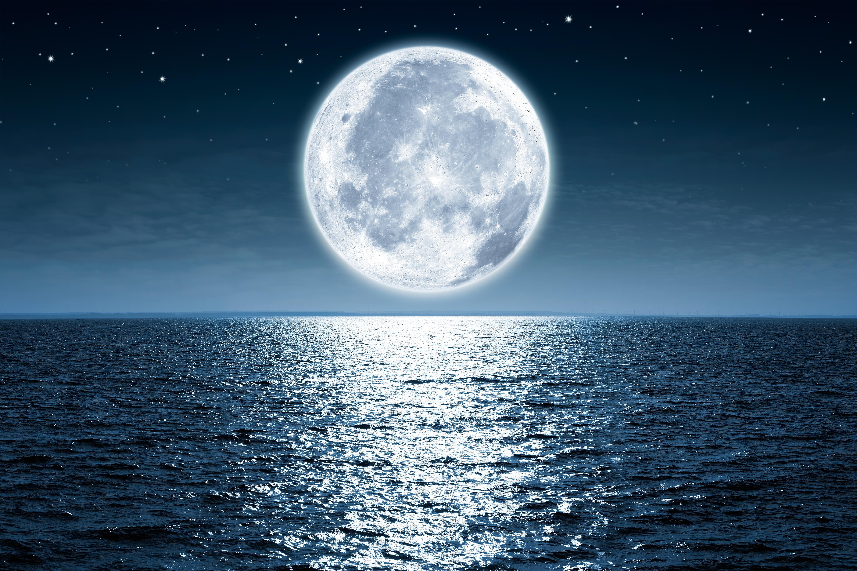 Картинка луны на обои