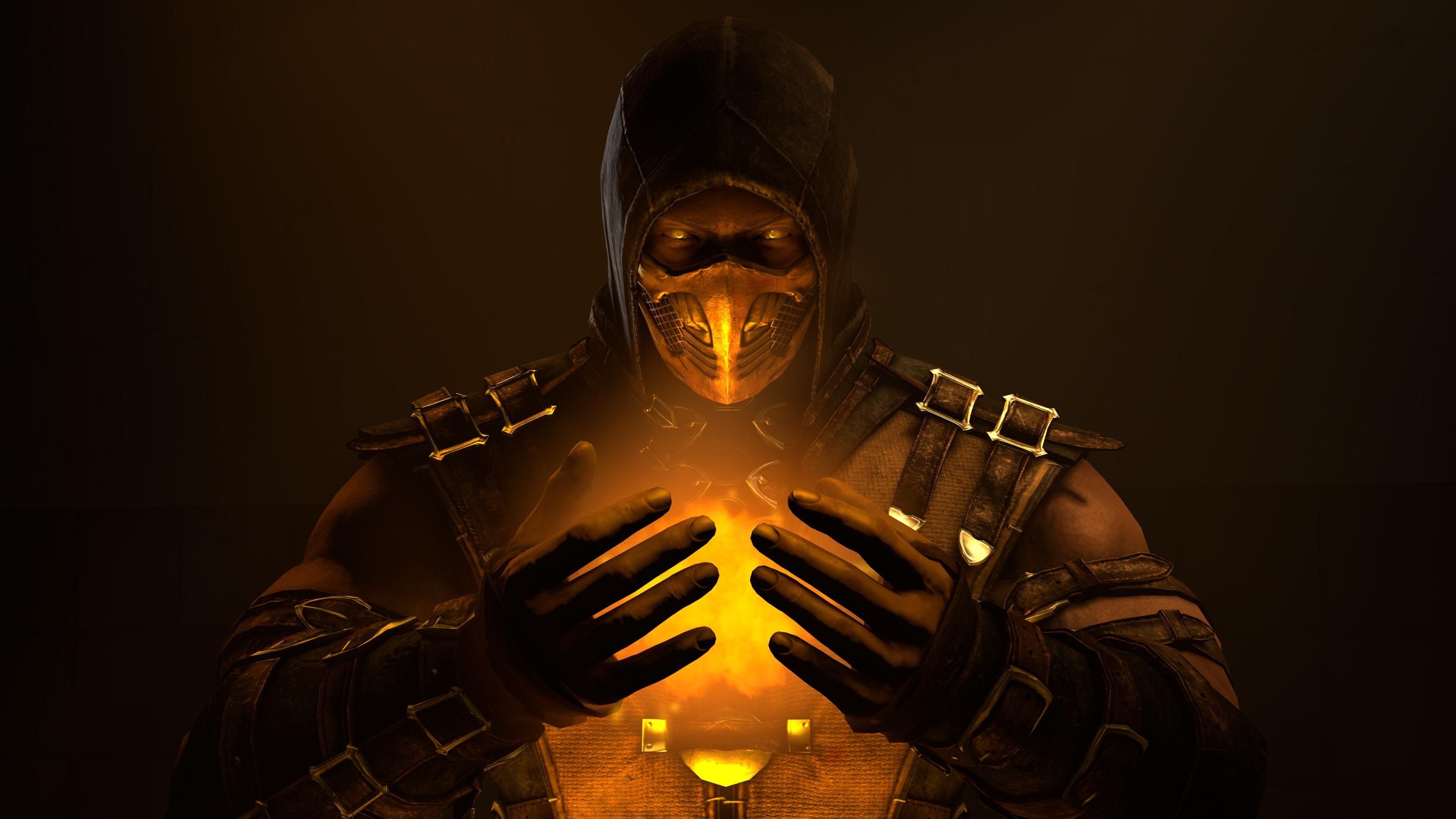 Wallpaper Mortal Kombat 11 Video Games 3265x1837 Quanleloi