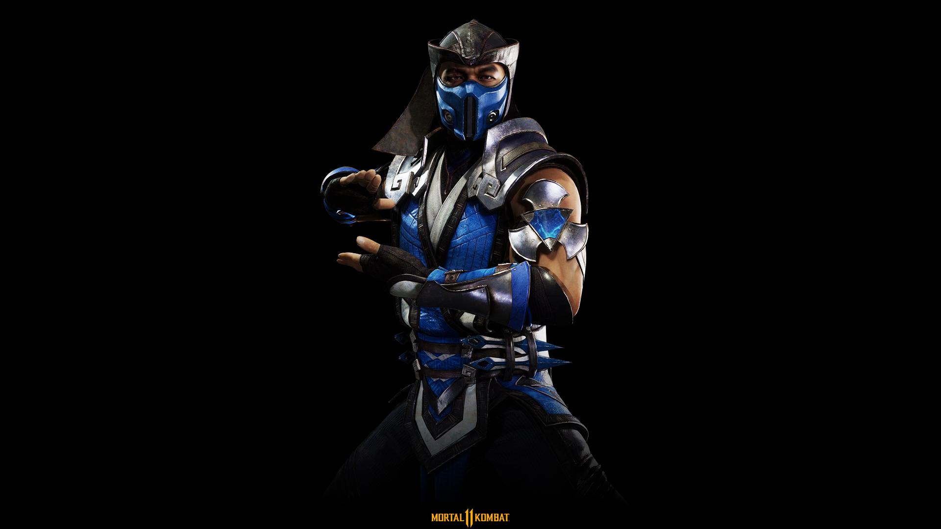 Wallpaper Mortal Kombat Mortal Kombat 11 Sub Zero Mortal