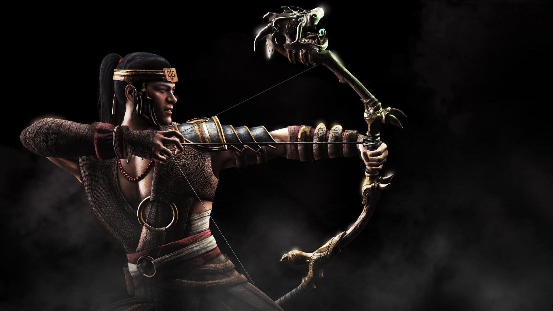 Wallpaper Mortal Kombat X Guitarist Kung Jin Darkness