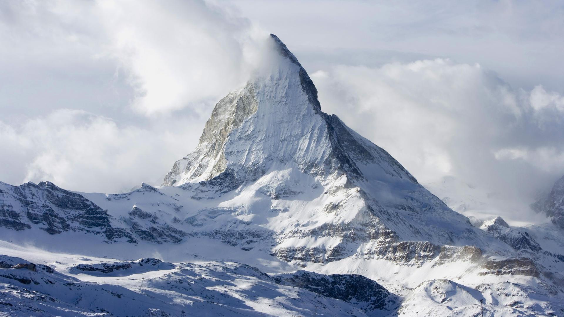 Wallpaper Mount Everest Mountain Top Landscape Snow 1920x1080