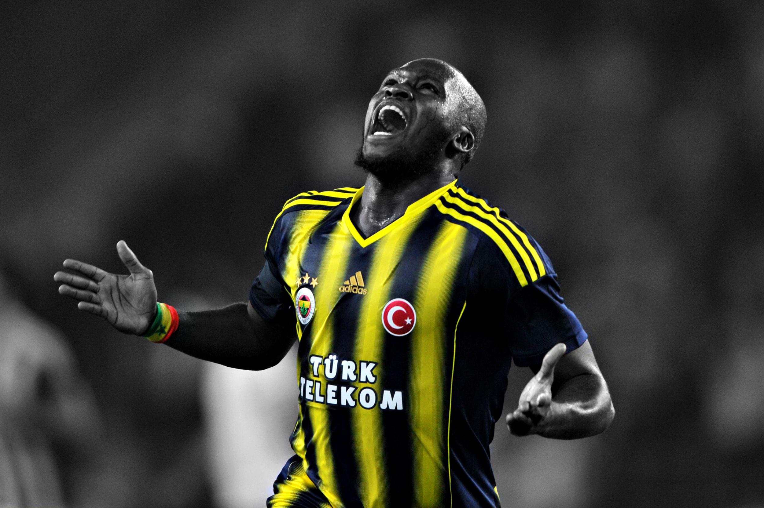 Hintergrundbilder : Moussa Sau, Fenerbah e, Selektive Färbung ...