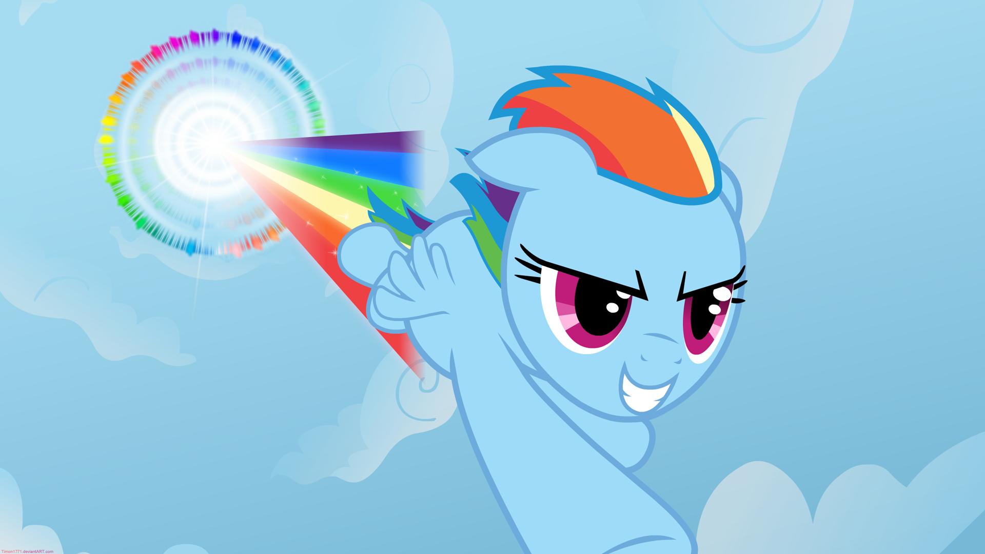 Wallpaper My Little Pony Rainbow Dash 1920x1080 Jpntr