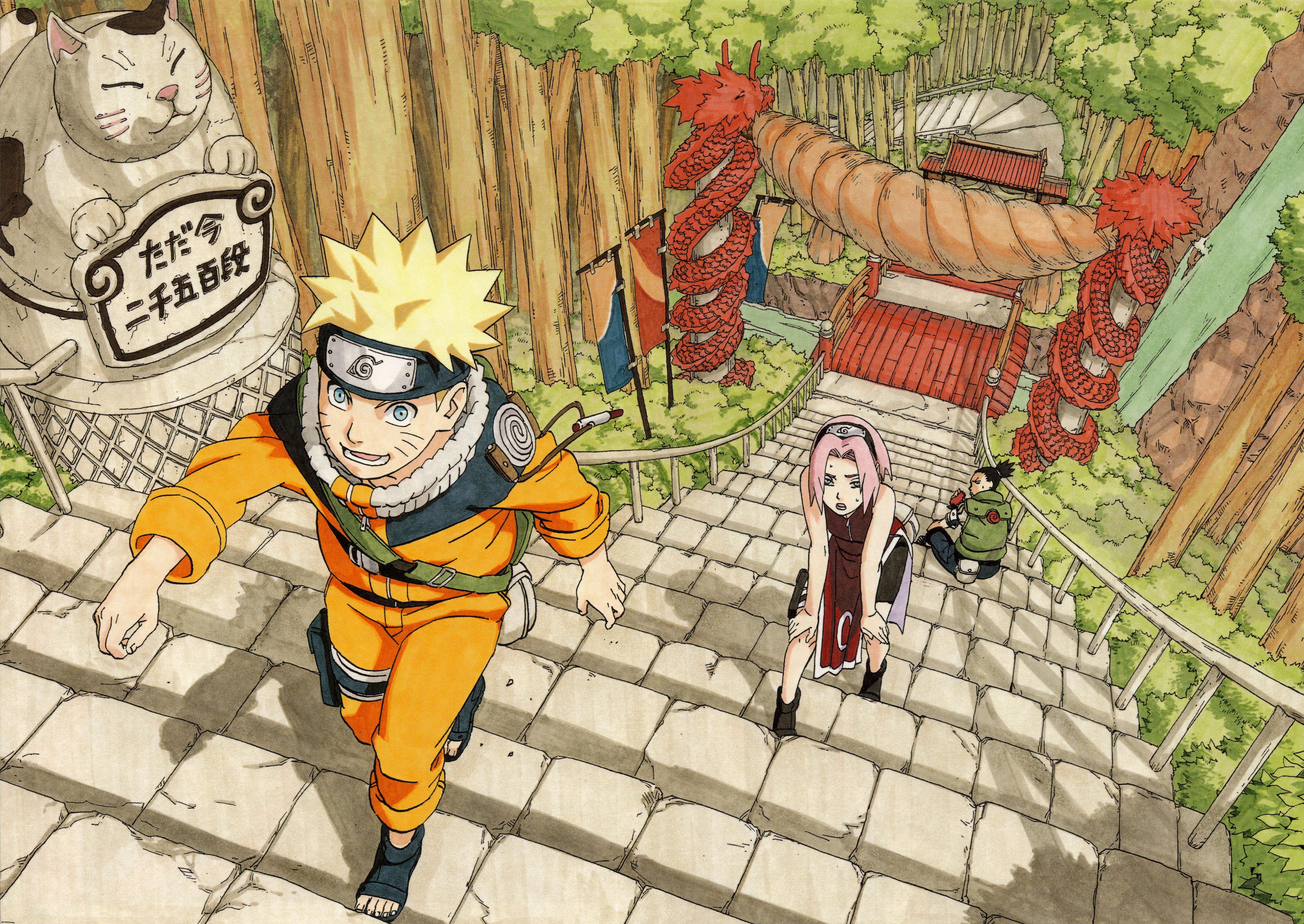 Must see Wallpaper Naruto Art - Naruto-Shippuuden-Masashi-Kishimoto-Uzumaki-Naruto-Haruno-Sakura-Nara-Shikamaru-artwork-illustration-1200479  Graphic_85948.jpg