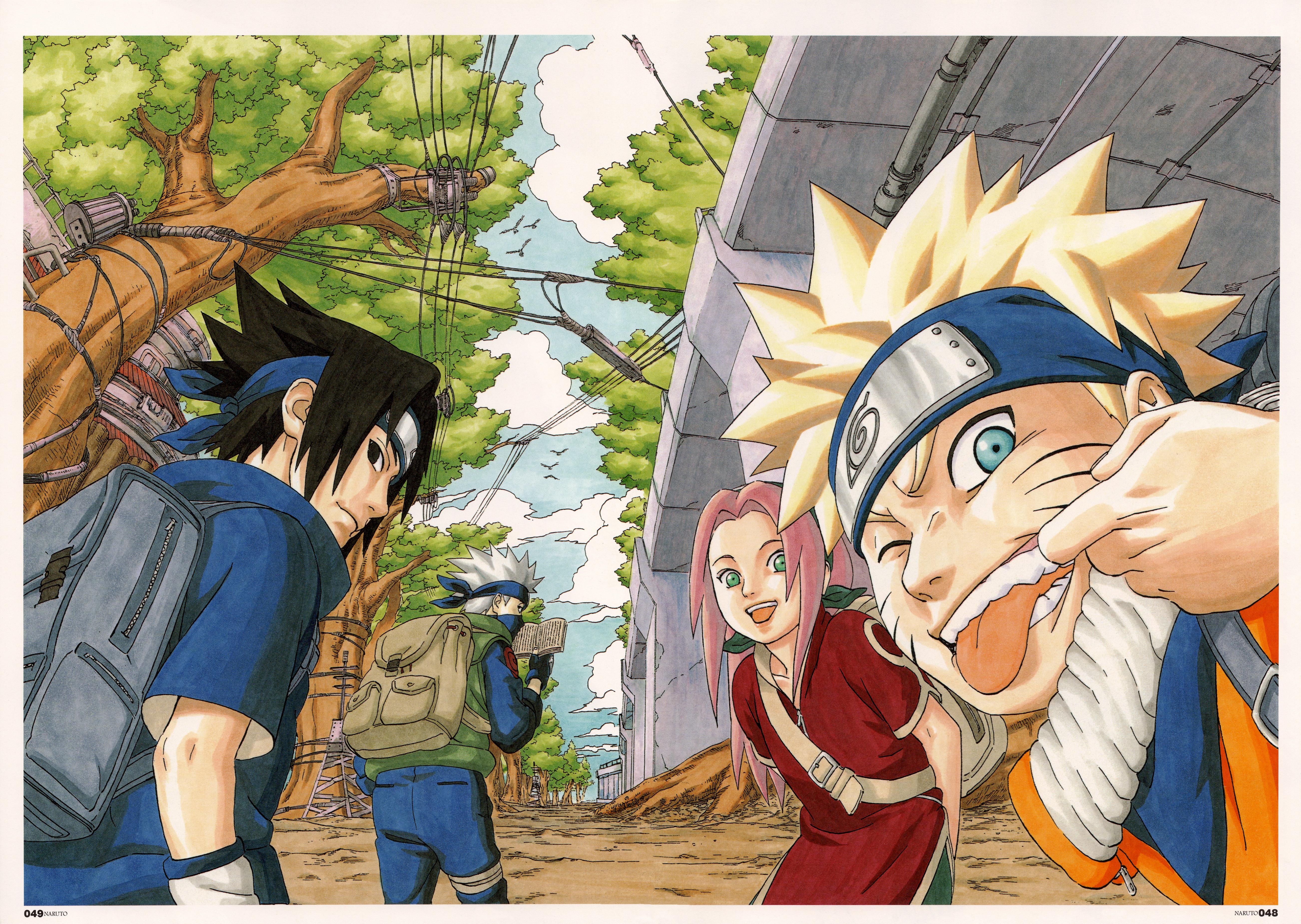 Wallpaper Naruto Shippuuden Masashi Kishimoto Uzumaki Naruto