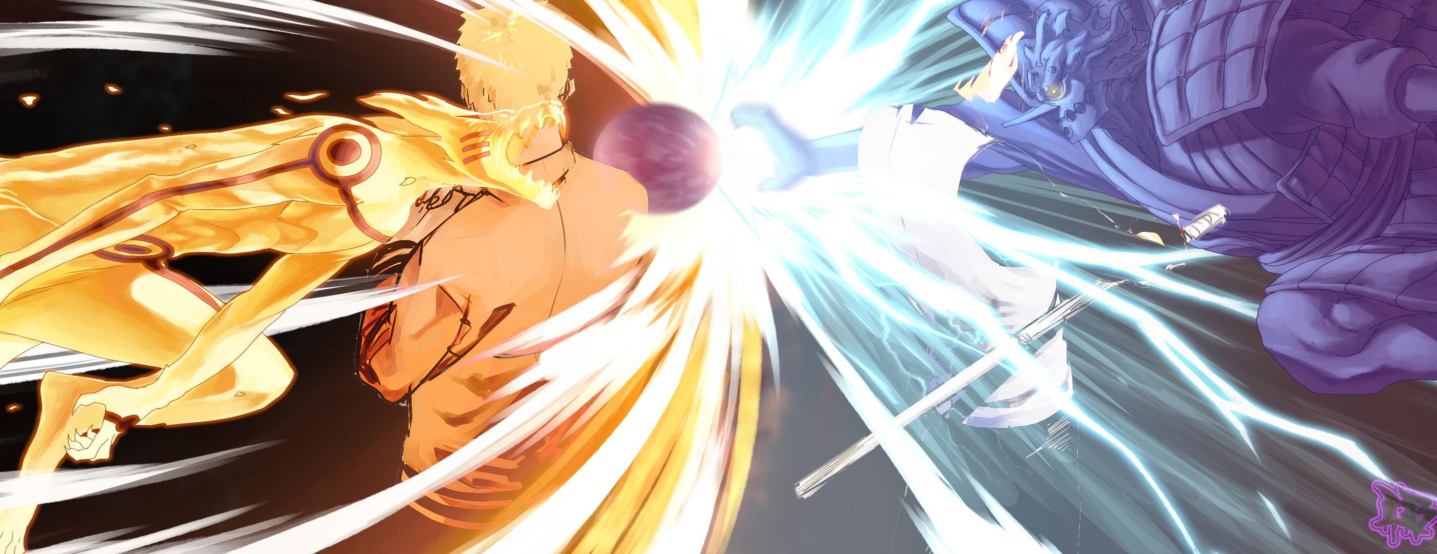 Wallpaper Naruto Shippuuden Uzumaki Naruto Uchiha Sasuke