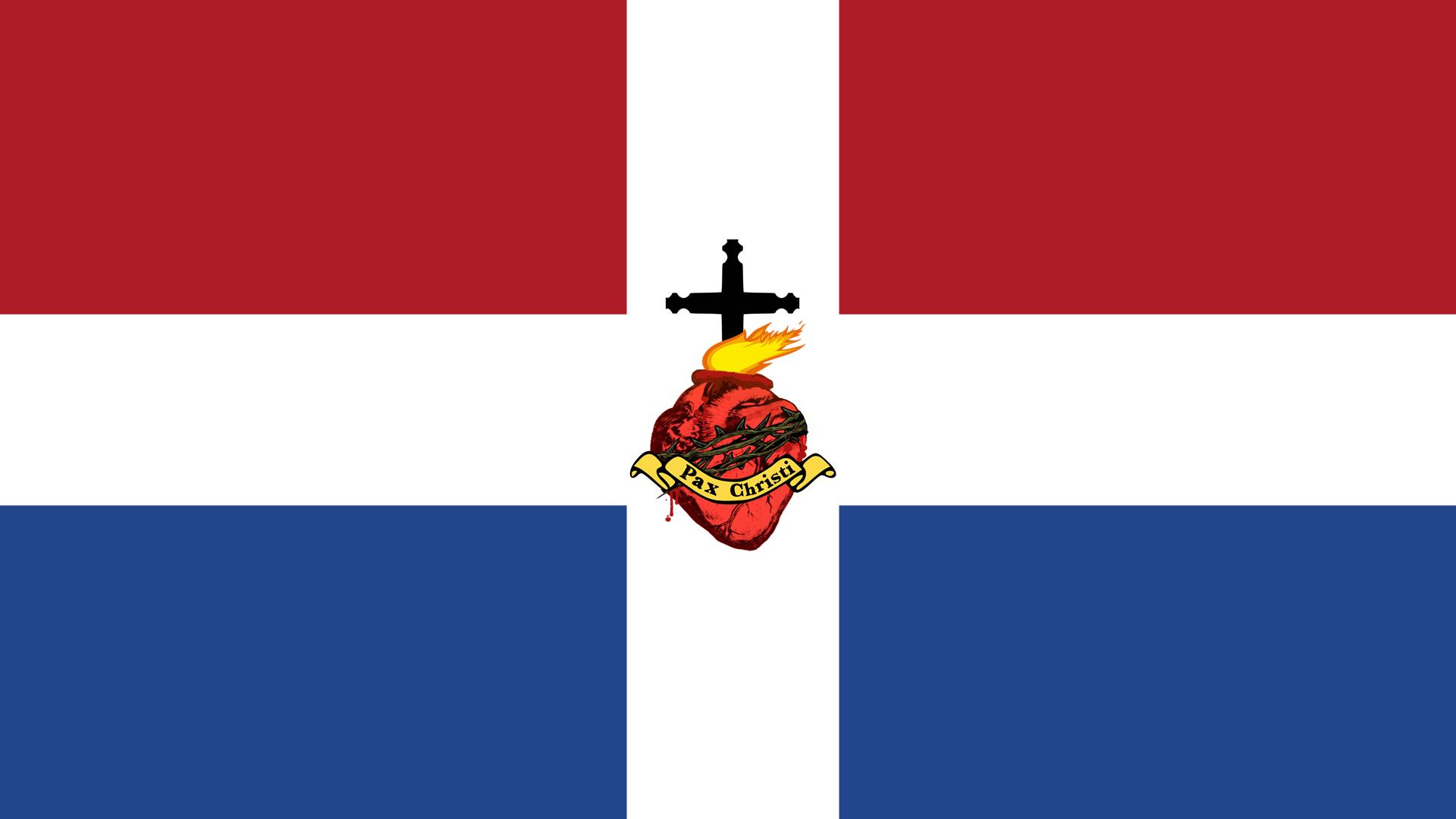 Wallpaper Netherlands Flag Christianity Jesus Christ 1920x1080