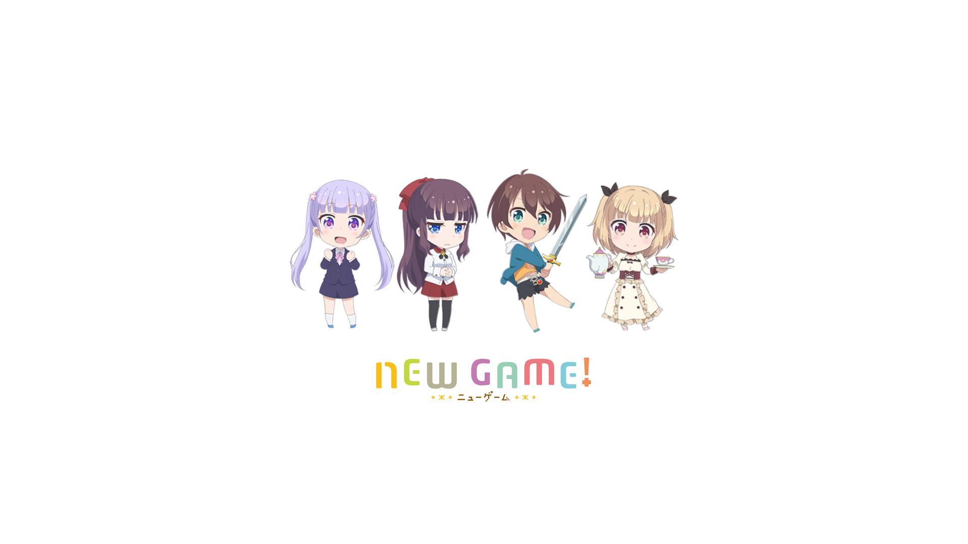 デスクトップ壁紙 新しいゲーム 瀧本ひふみ 鈴鹿青葉 篠田元