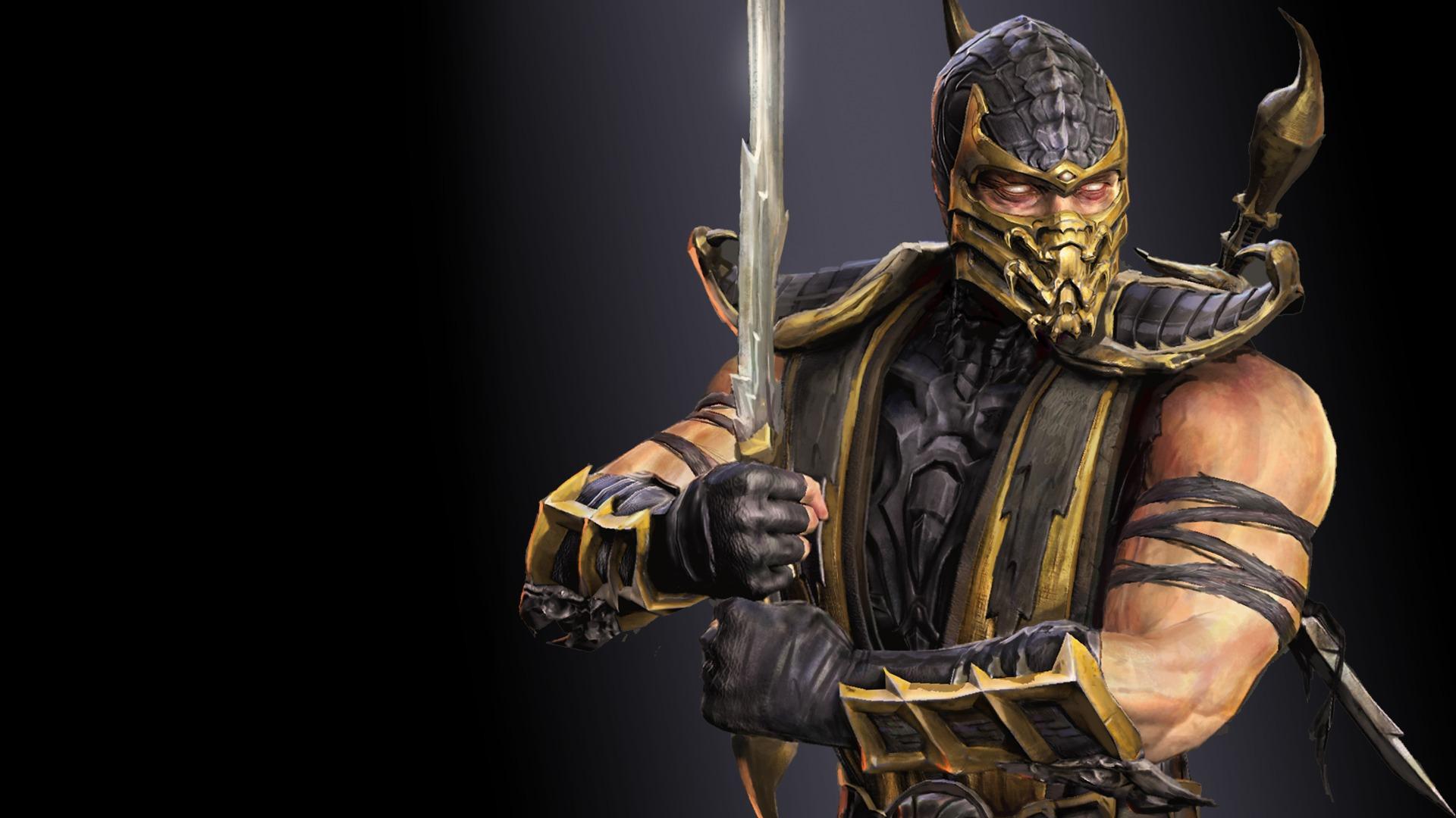 Wallpaper Ninja Warrior Mortal Kombat Ghost Machine