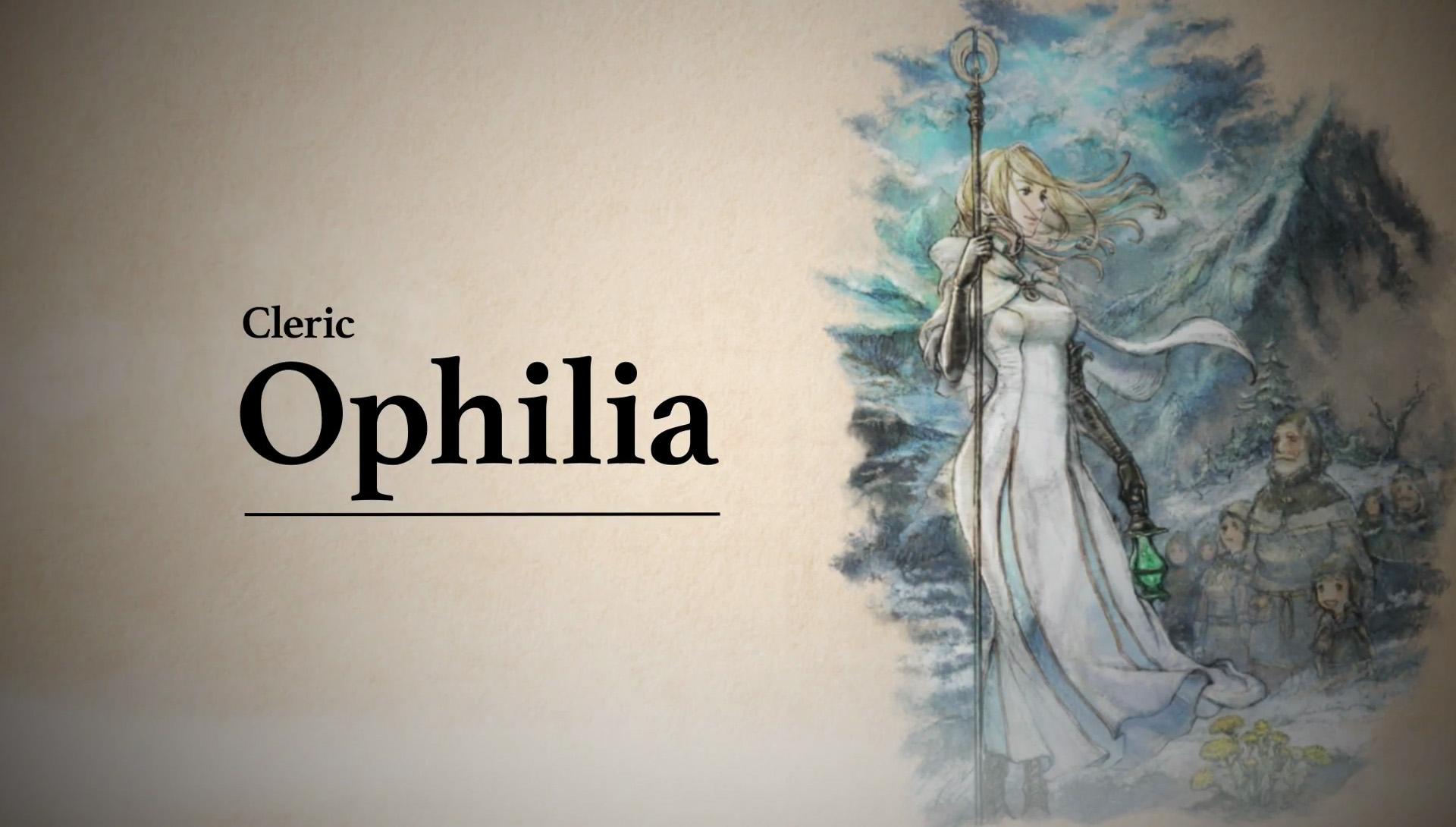 Wallpaper : Octopath Traveler, video games, cleric ...