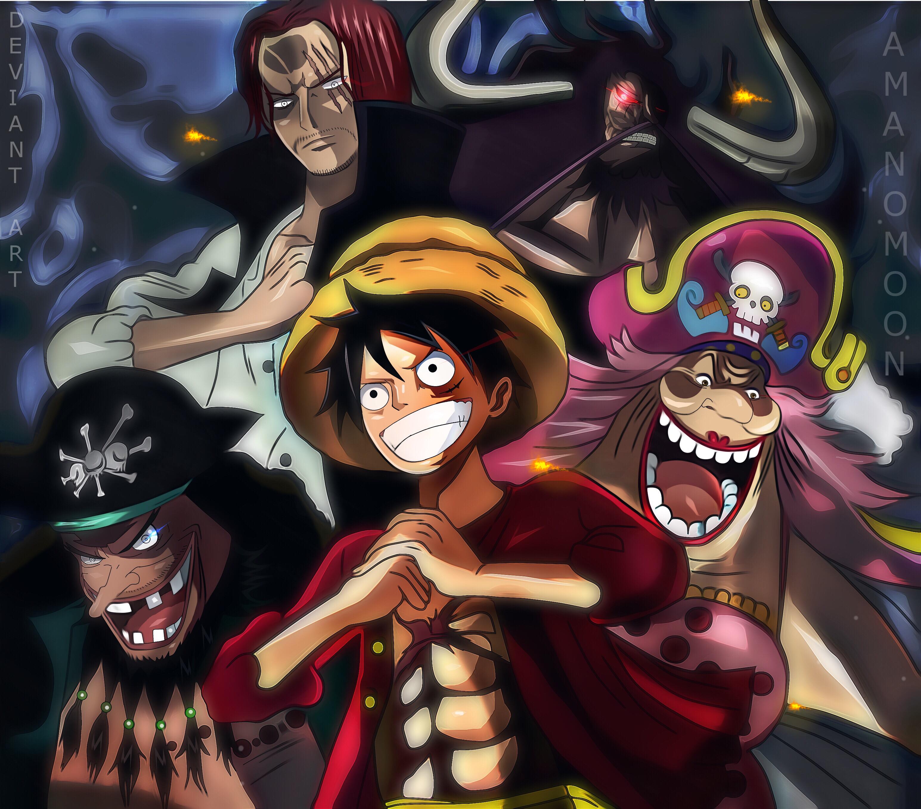 Hintergrundbilder Ein Stuck Yonkou Affe D Luffy