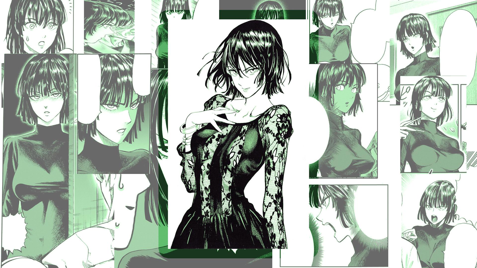 Wallpaper One Punch Man Fubuki Anime Manga 1920x1080