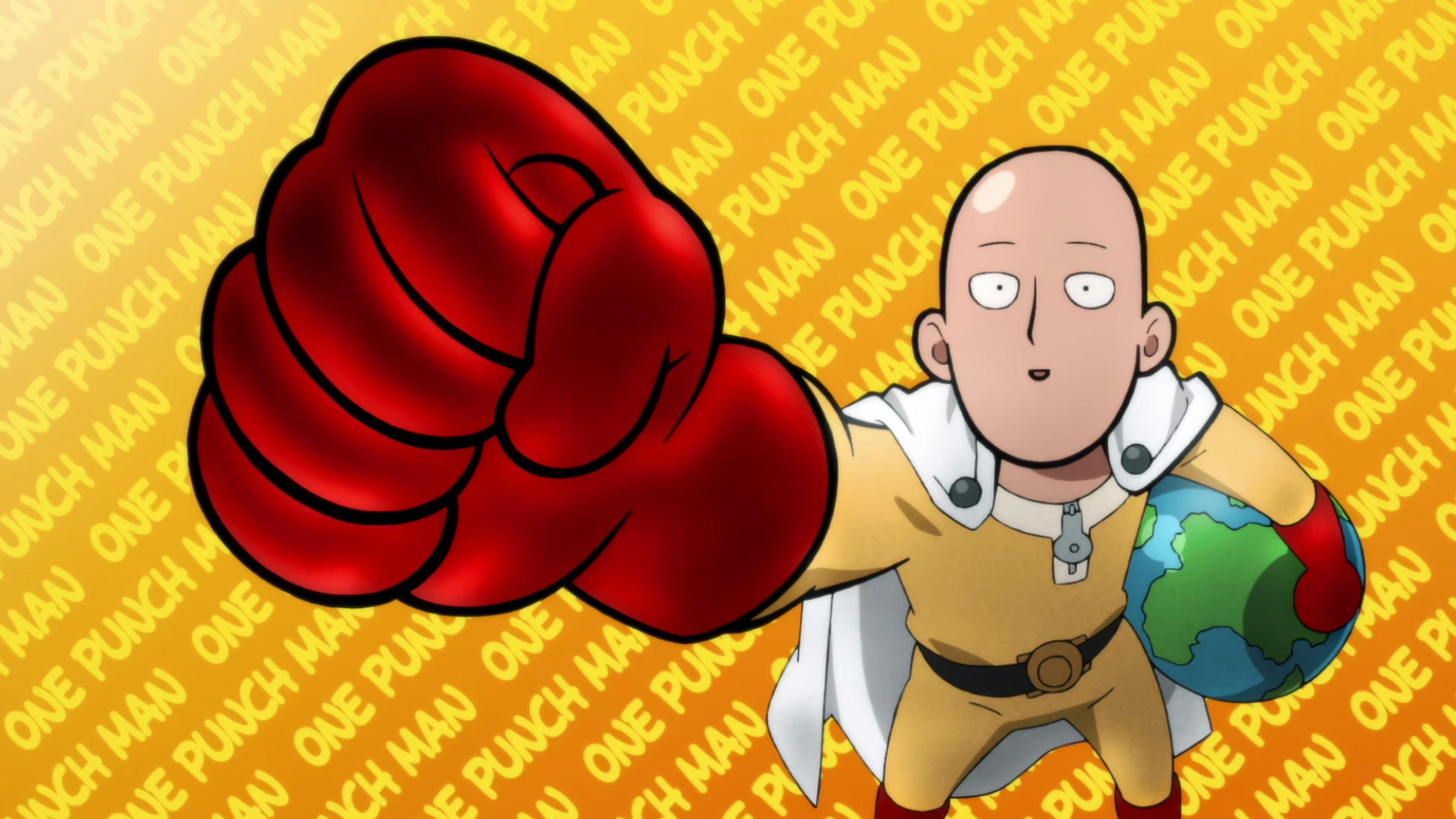 Wallpaper : One Punch Man, Saitama 3840x2160 - boriszms ...