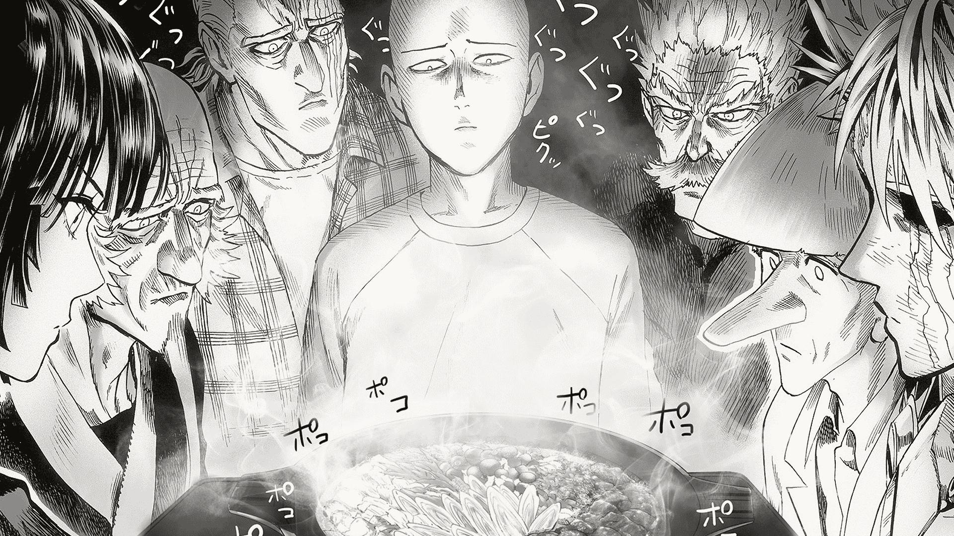 Wallpaper One Punch Man Saitama Genos King One Punch