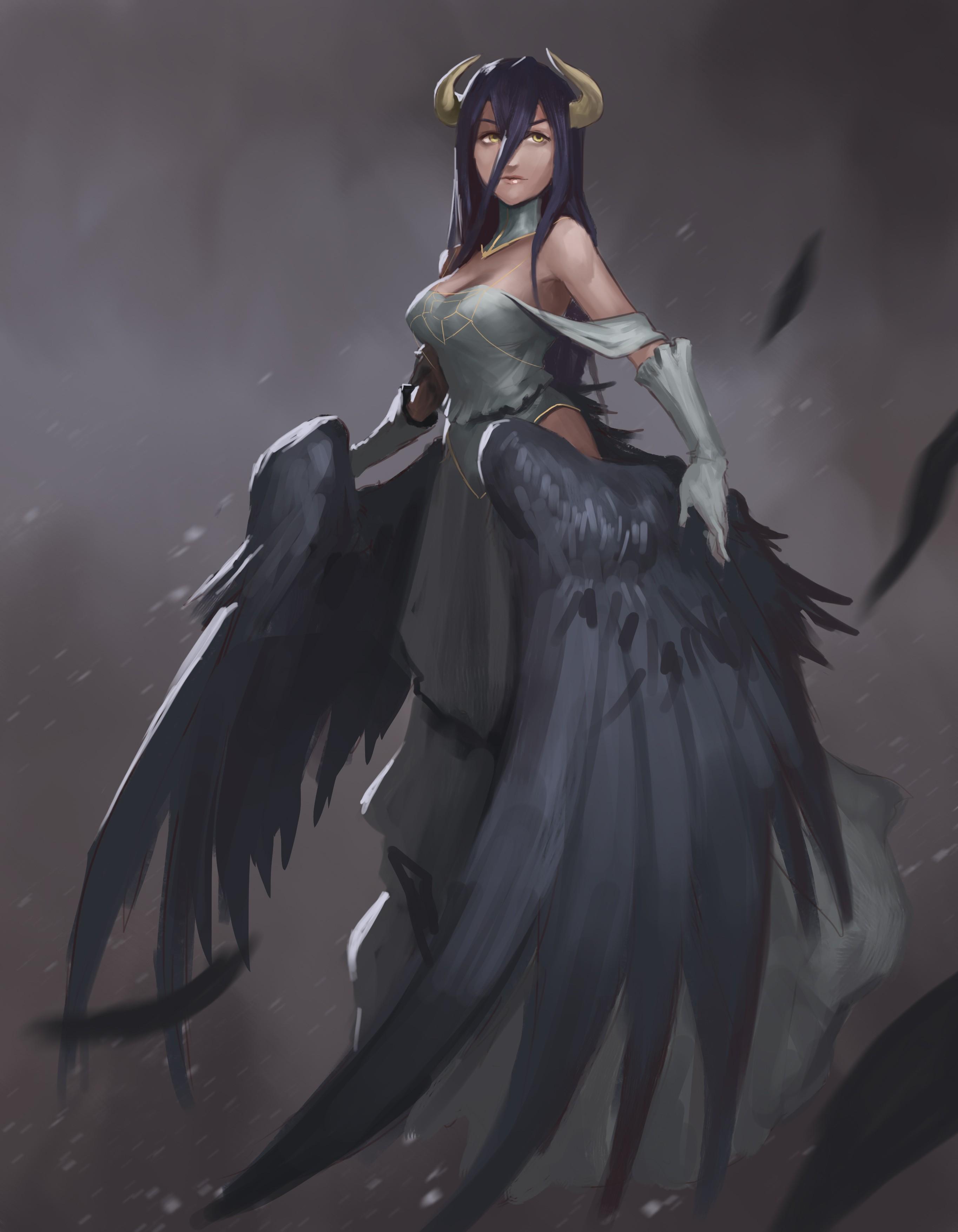 Fondos De Pantalla Anime De Overlord Chicas Anime Albedo
