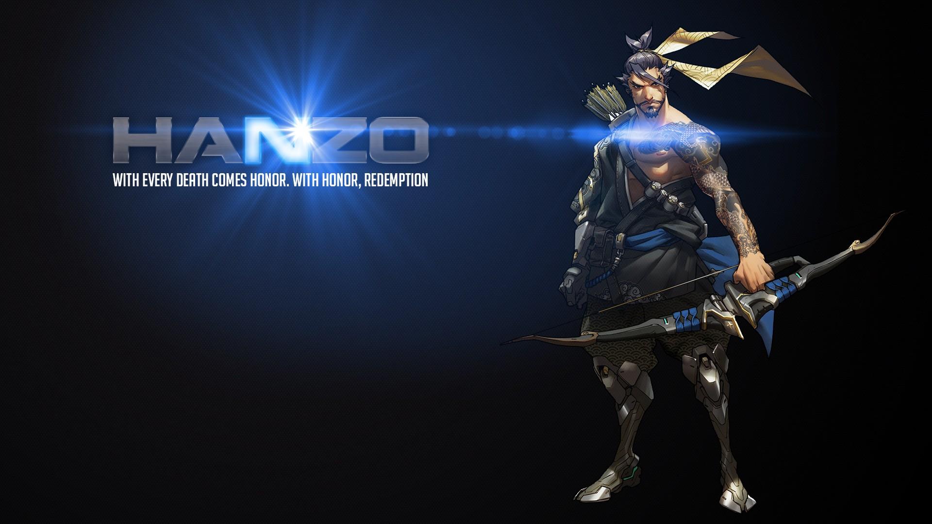 デスクトップ壁紙 オーバーウォッチ Hanzo Overwatch ブリザード