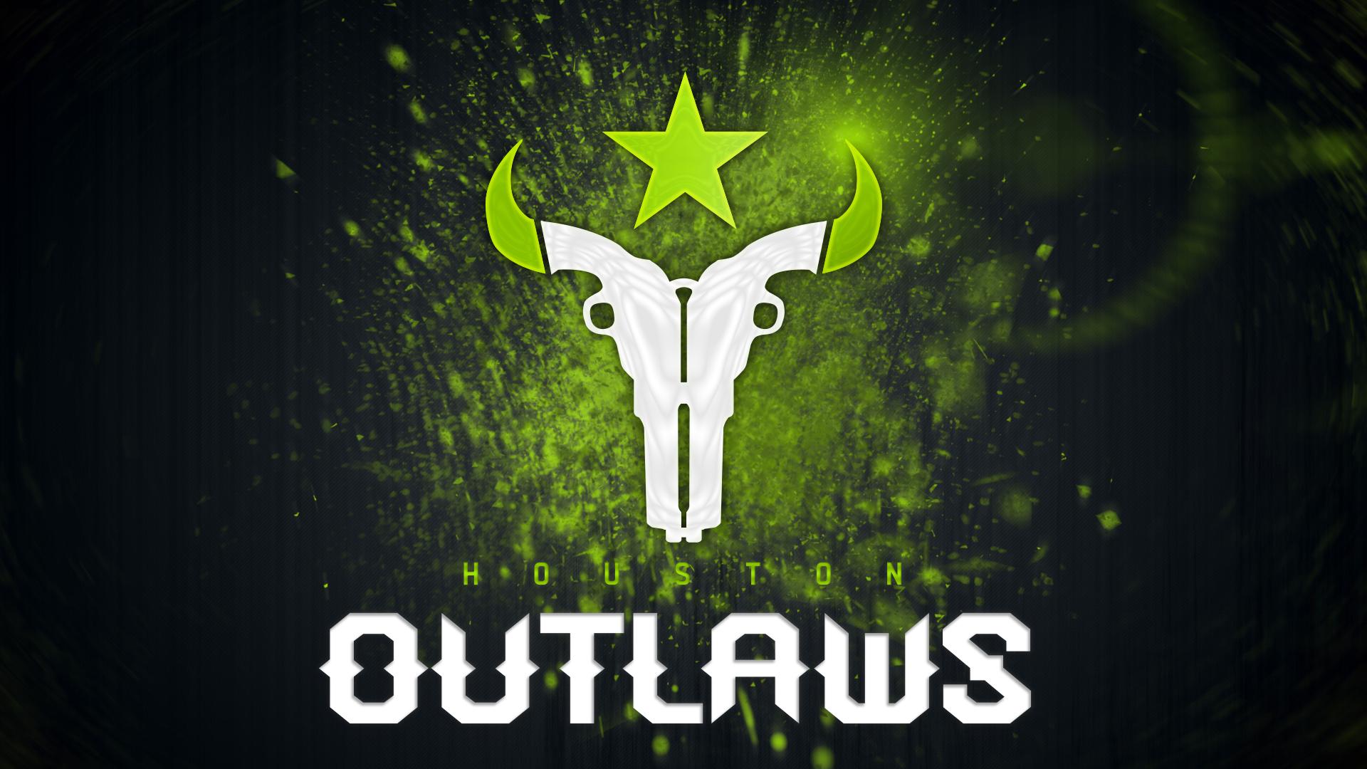 Wallpaper Overwatch League Houston Outlaws E Sports 1920x1080