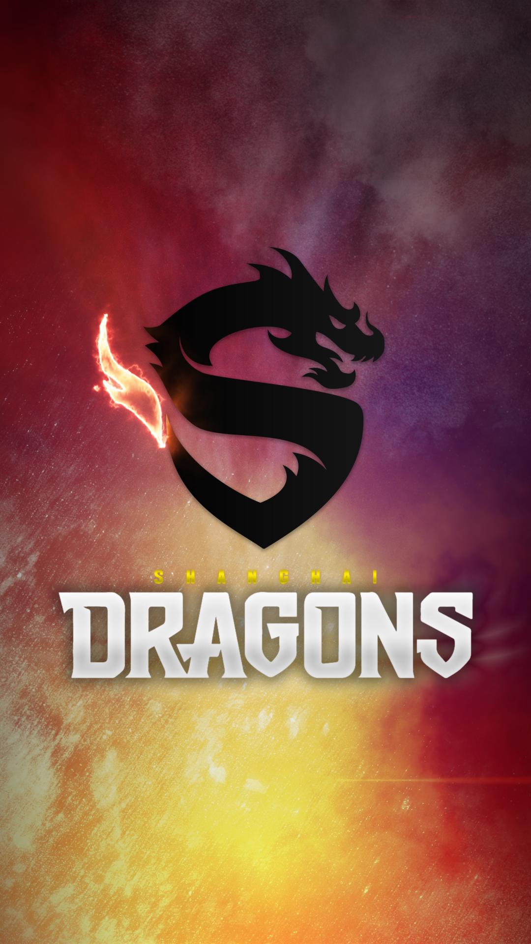 Wallpaper Overwatch League E Sports Shanghai Dragons 1080x1920