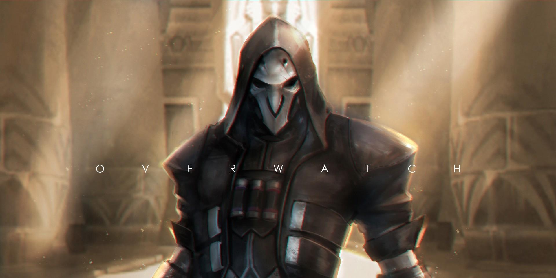 Wallpaper Reaper Overwatch Reapers Grim Reaper Darkness