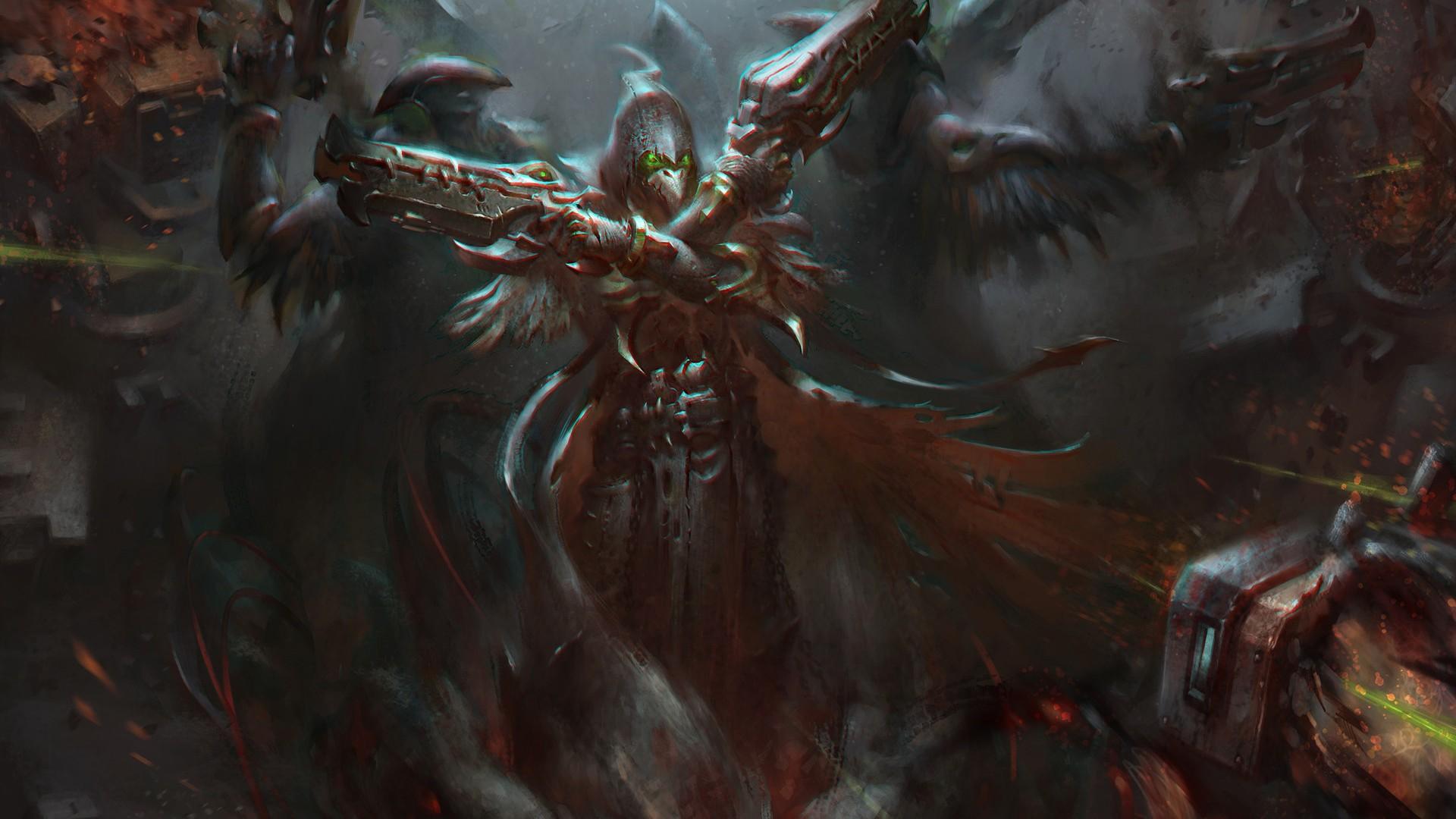 Fondos De Pantalla Supervisión Dragón Reaper Overwatch