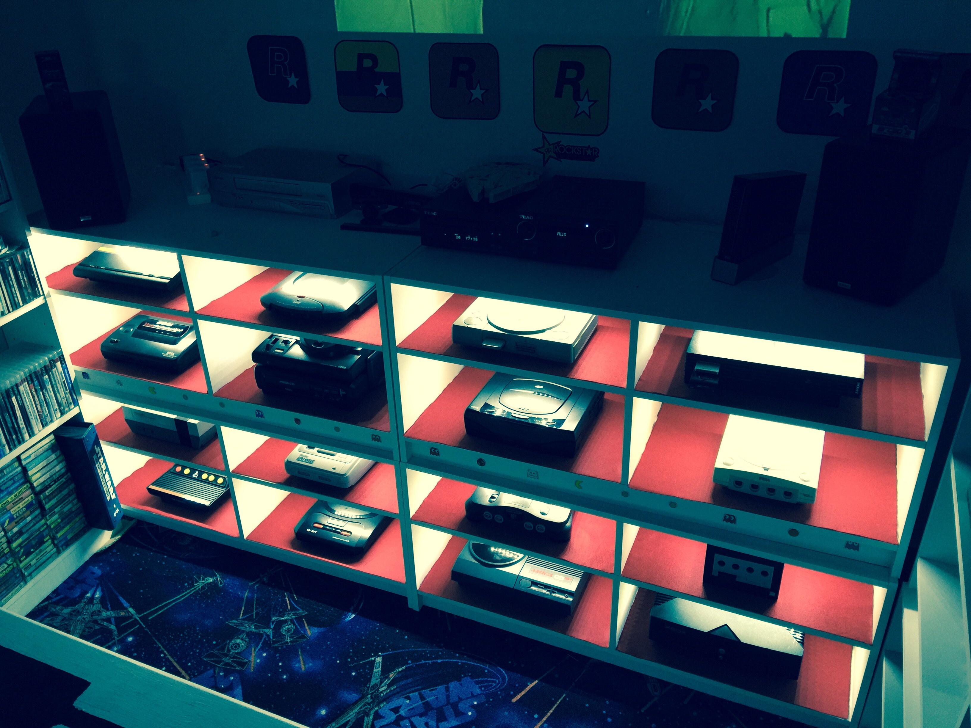 Wallpaper : PSP, starwars, Nintendo, Amiga, Atari, retro
