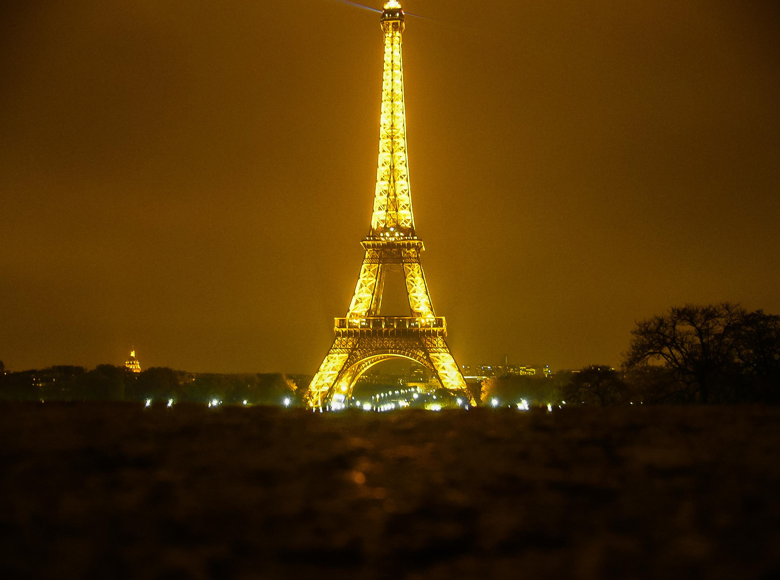 Wallpaper : Paris, tower, night, torre, tour, eiffel, gastone ...