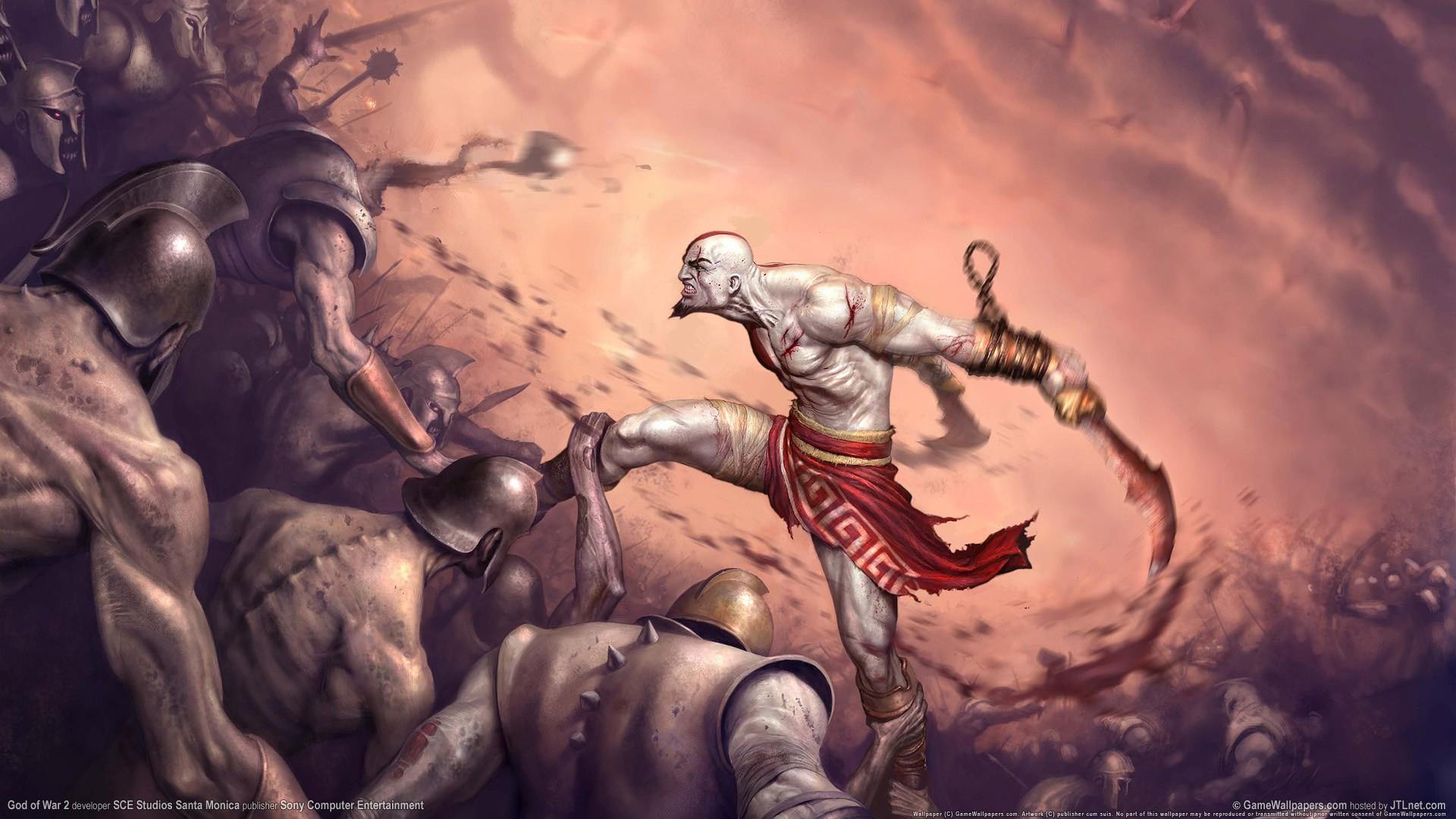 Wallpaper Person Mythology God Of War Kratos Screenshot
