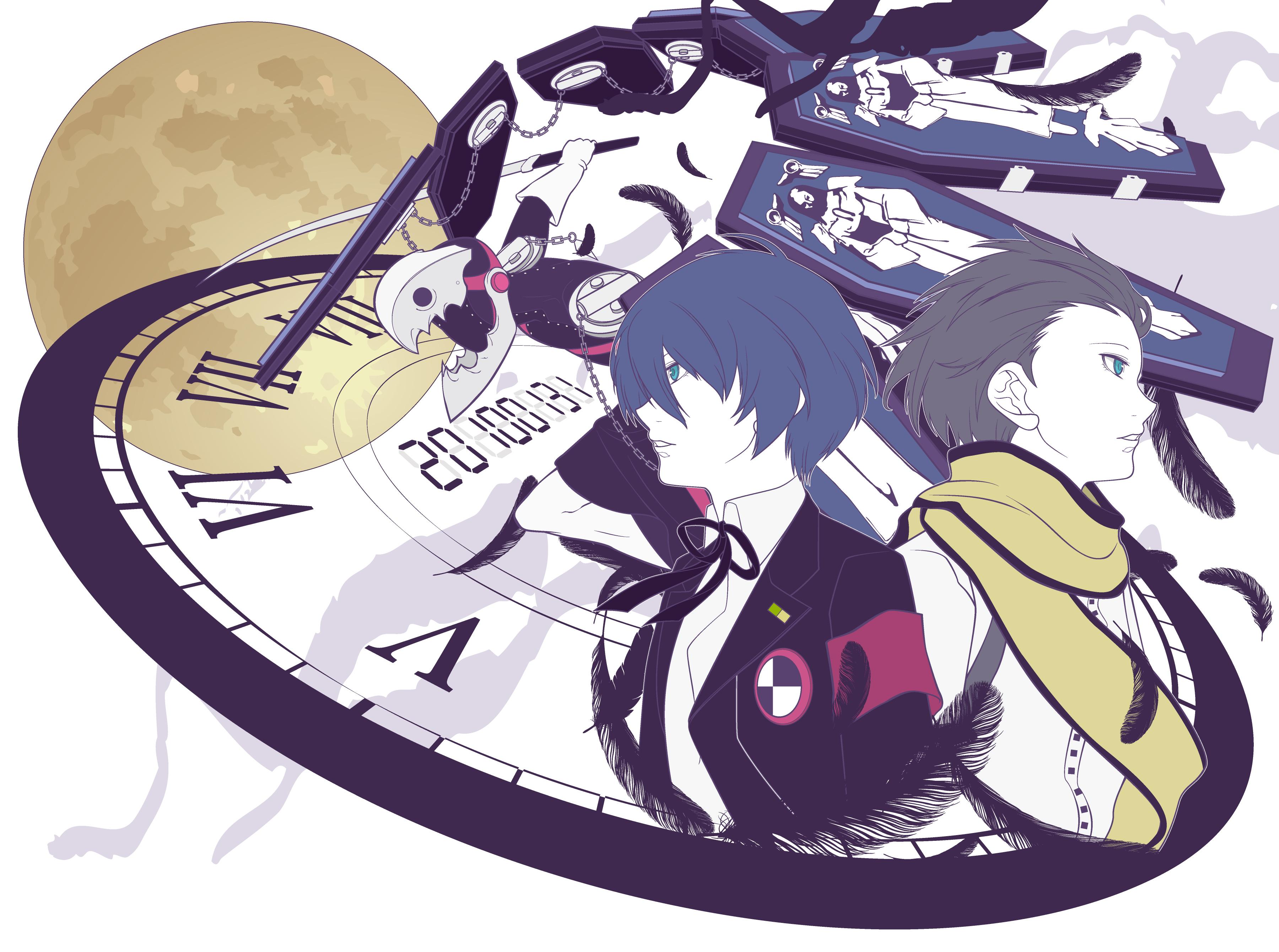 Wallpaper Persona 3 Shin Megami Tensei Series Video Game