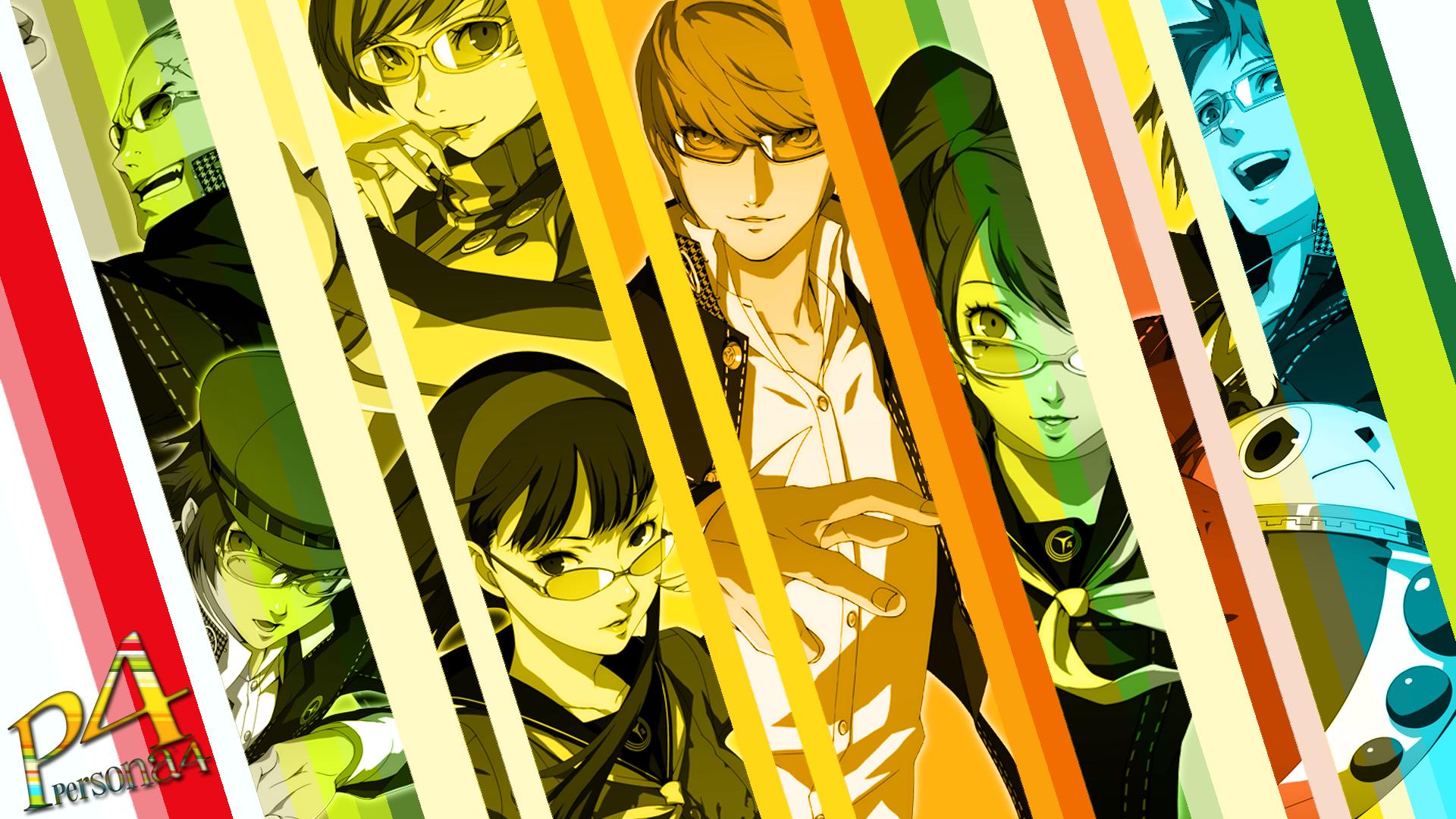 Fondos De Pantalla Persona 4 Personal 4 Arena Anime