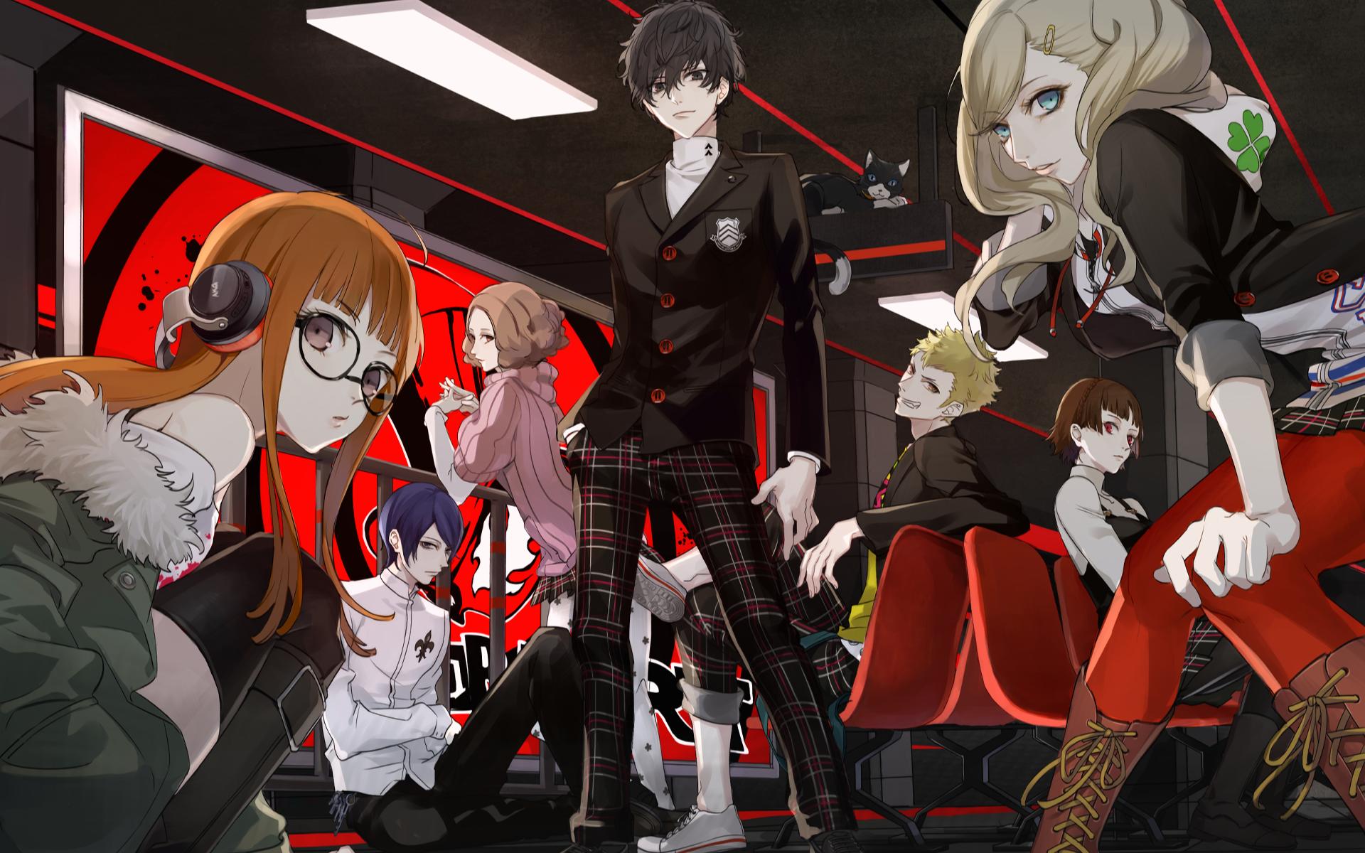 Persona 5 Persona series Phantom Thieves Akira Kurusu