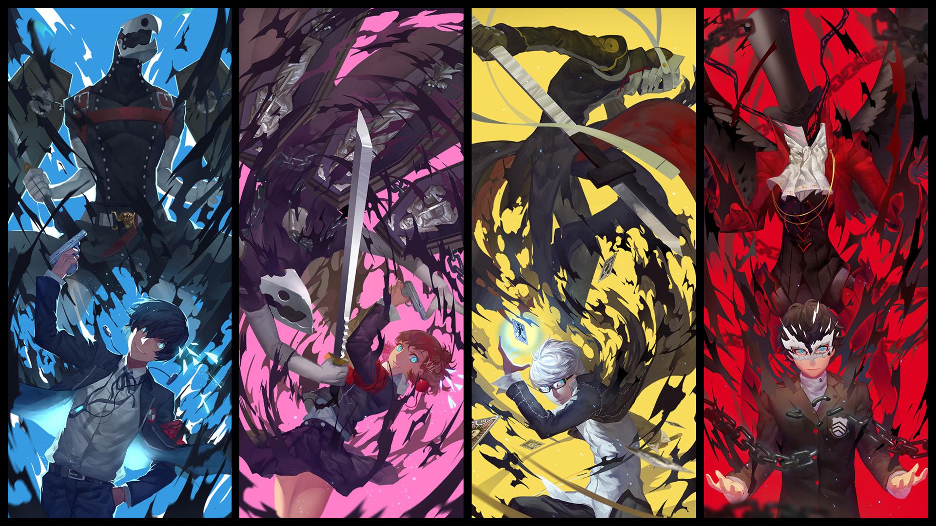 Wallpaper Persona 5 Atlus Persona Series Persona 4