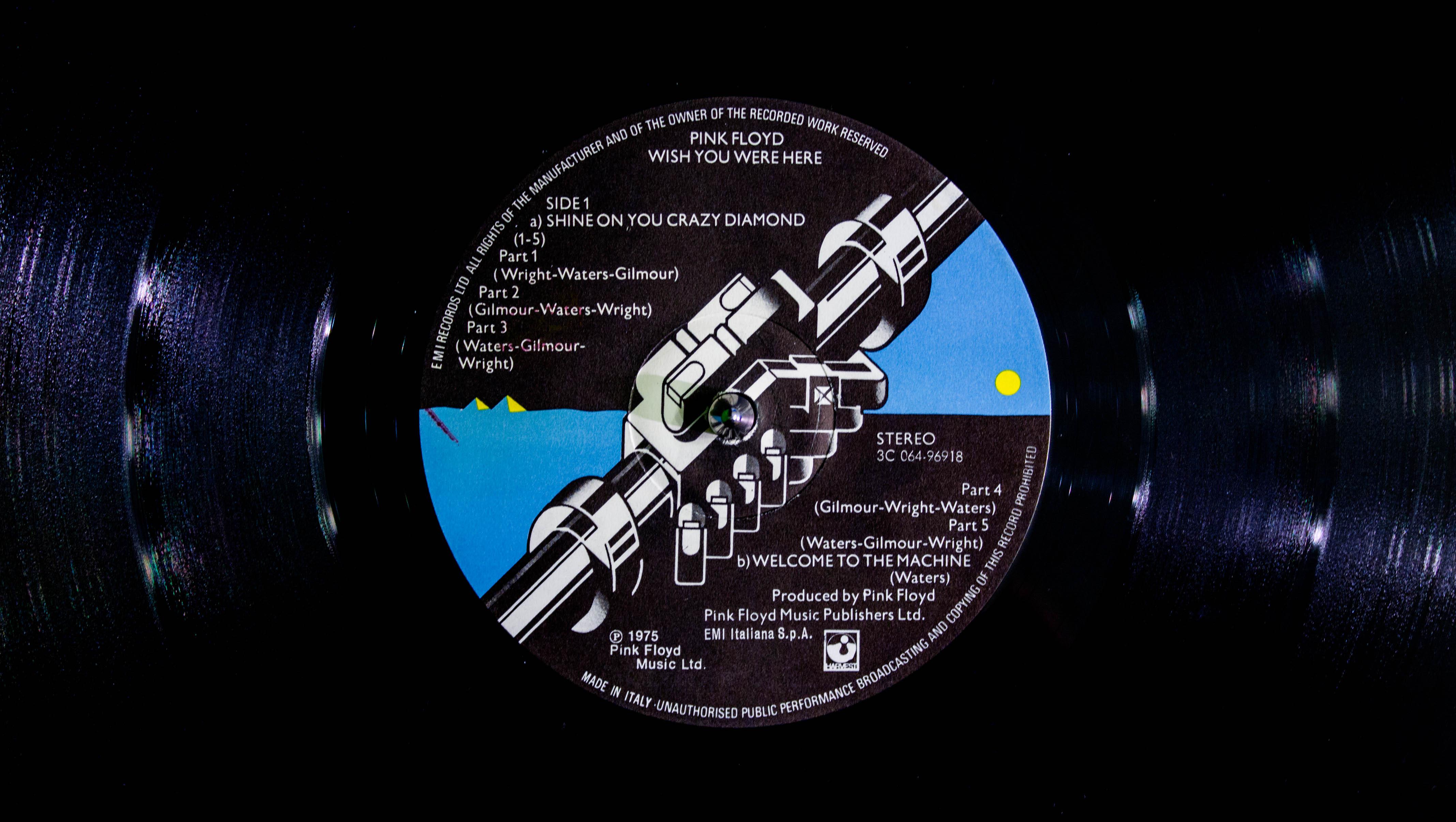 Wallpaper Pink Floyd Vinyl 4272x2412 Terence5555