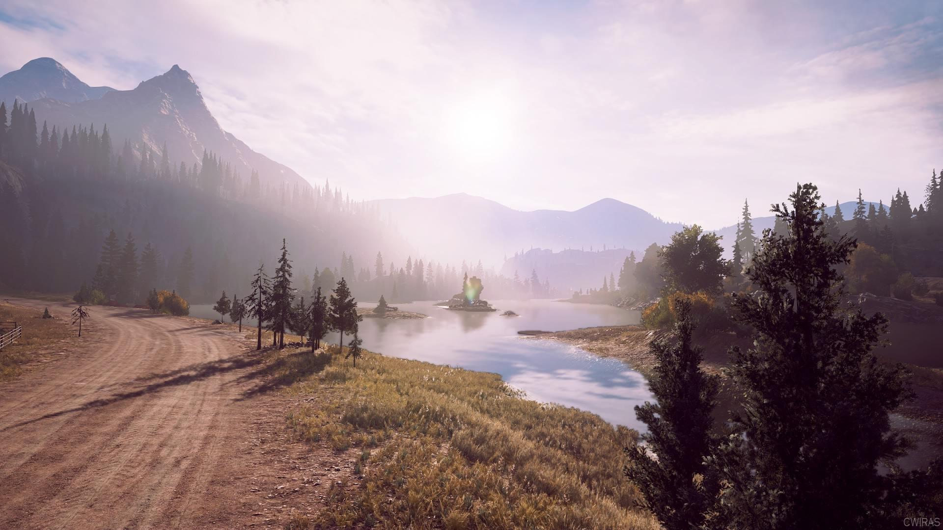 Wallpaper Playstation 4 Far Cry Far Cry 5 Sun Rays