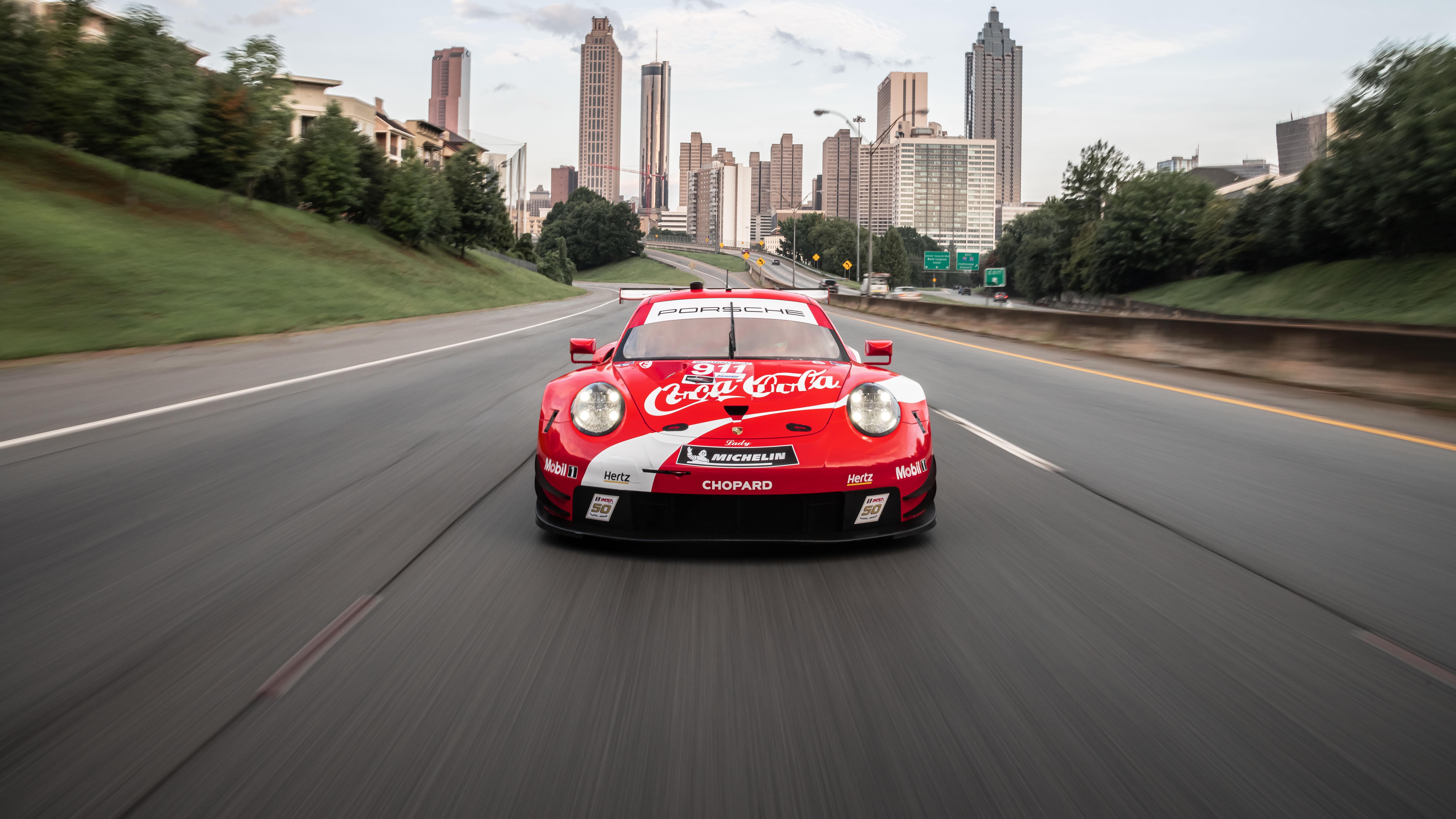 Wallpaper Porsche 911 Rsr Race Cars 7669x4314
