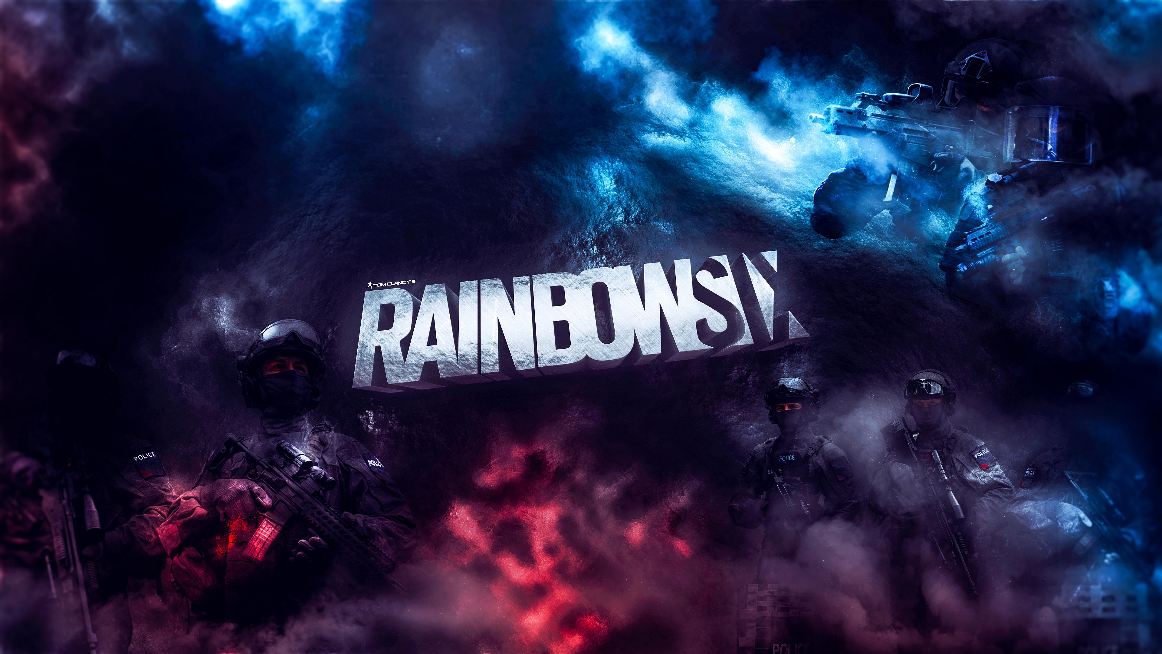 Wallpaper Rainbow 6 Siege Video Games Games Posters Games Art