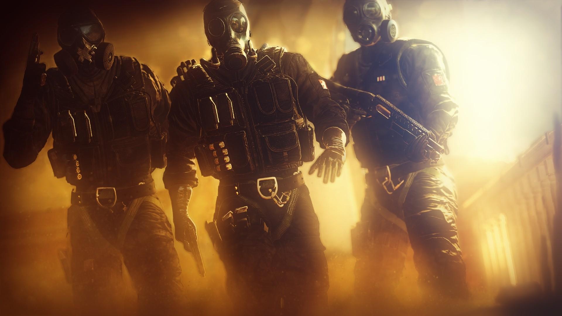 Wallpaper Rainbow Six Siege Swat Video Games 1920x1080