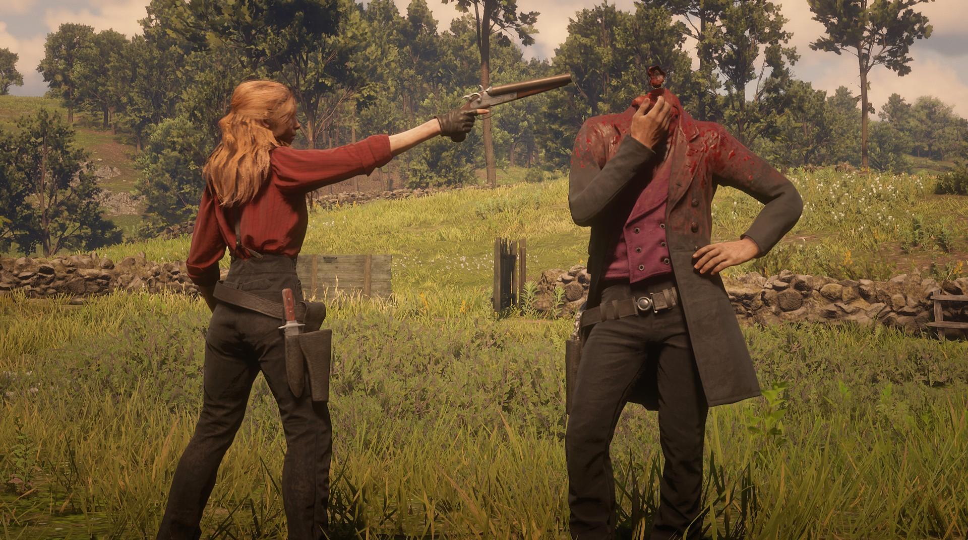 Wallpaper : Red Dead Redemption 2, Arthur Morgan, penjahat