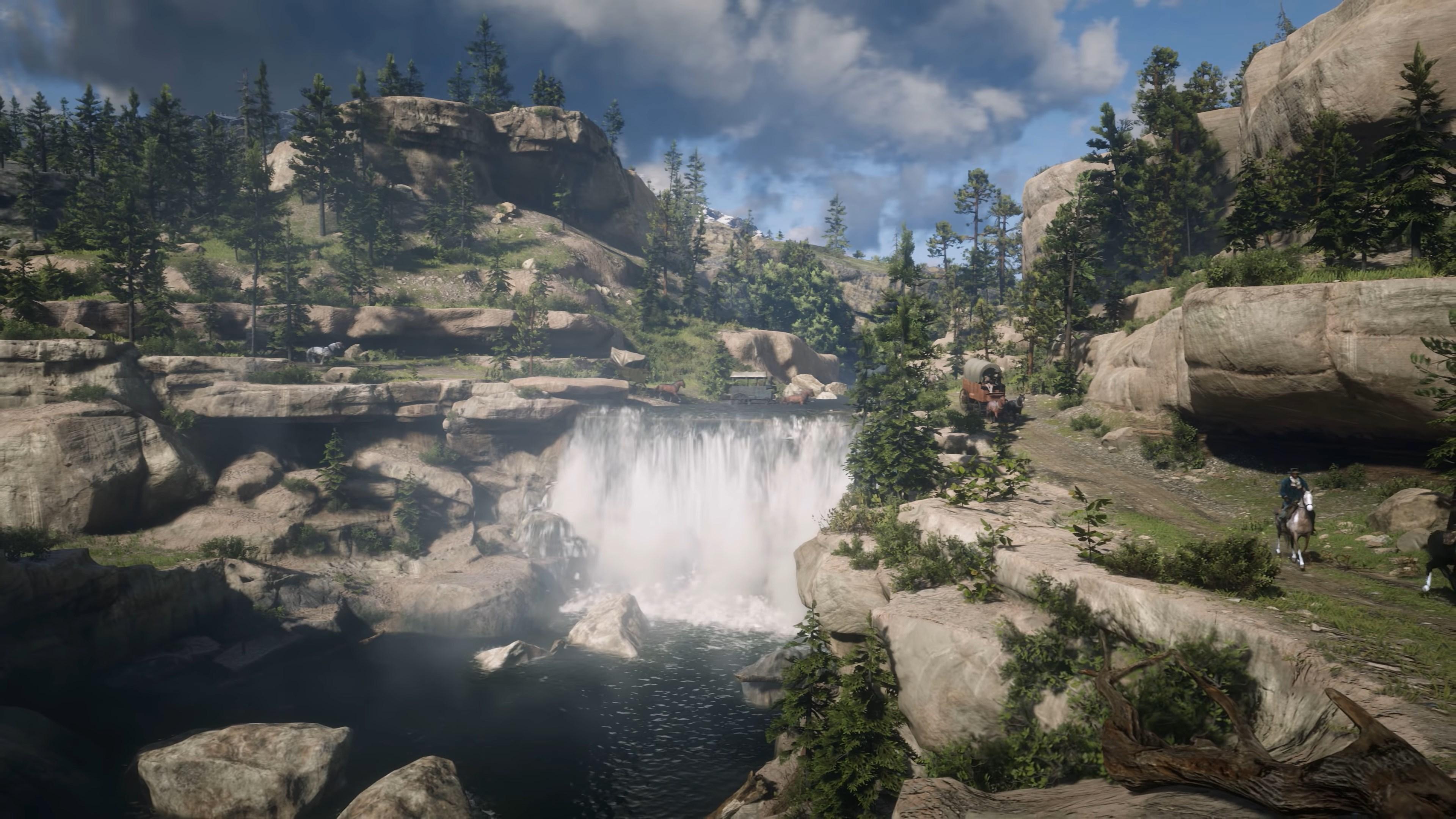 Wallpaper Red Dead Redemption 2 Rockstar Games Video