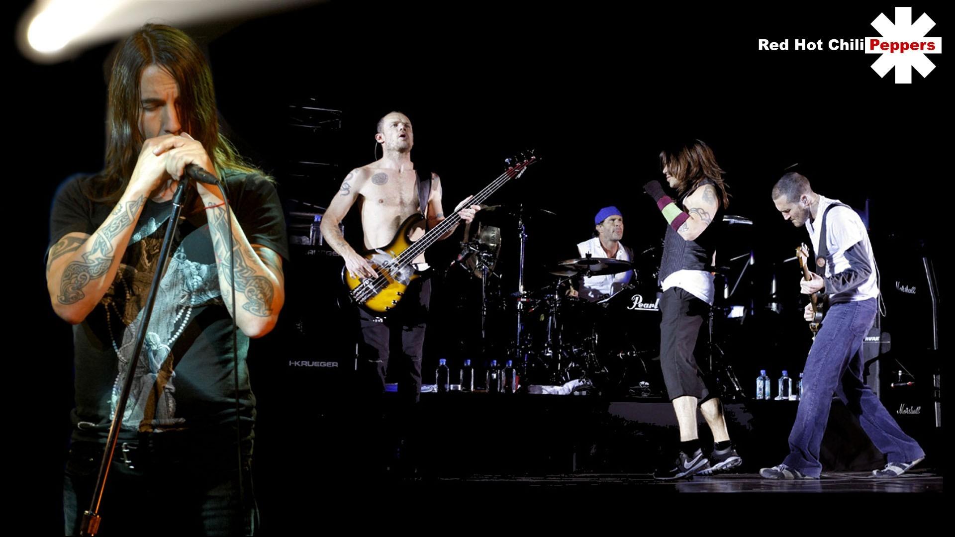 Wallpaper Red Hot Chili Peppers Scene Show Tatoo Light