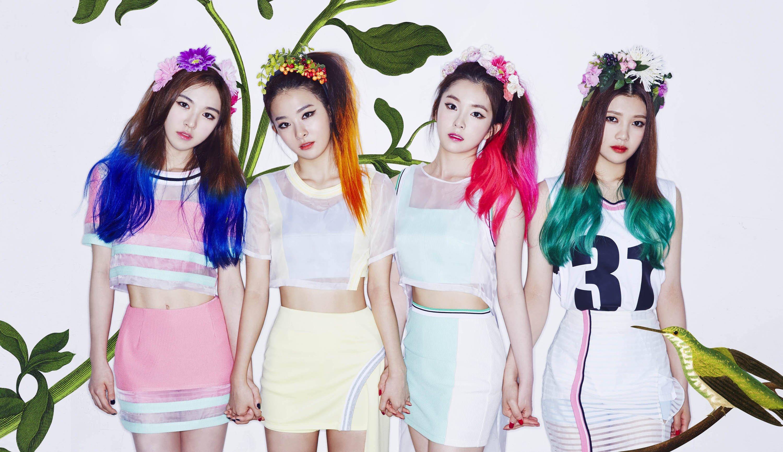 Wallpaper Red Velvet Irene Wendy Kegembiraan Asian
