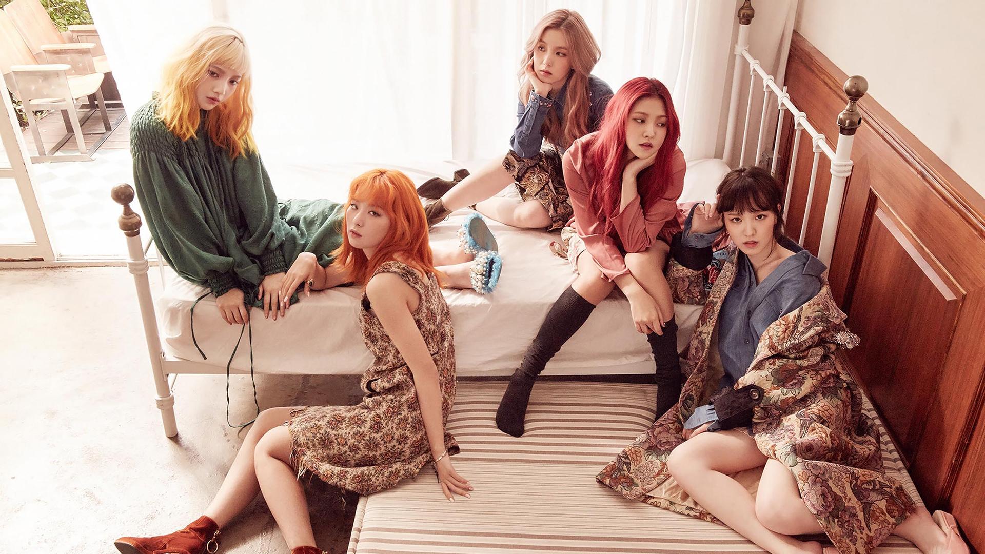 Wallpaper Red Velvet Kpop Wendy Yeri Seulgi Irene Asian
