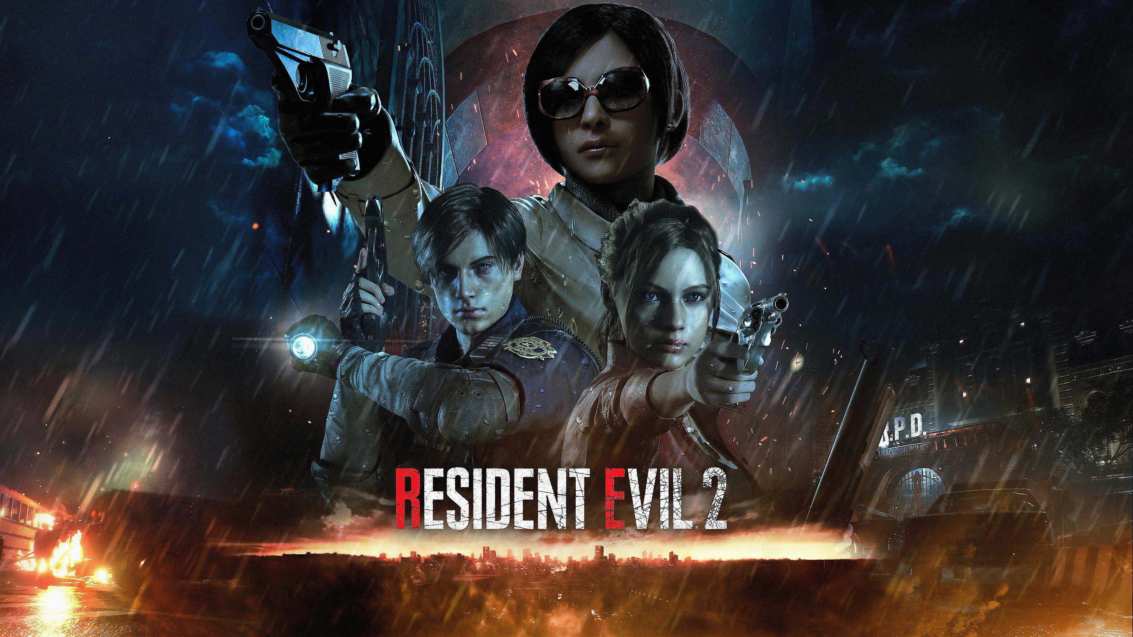Wallpaper Resident Evil 2 Resident Evil 2 Remake Ada